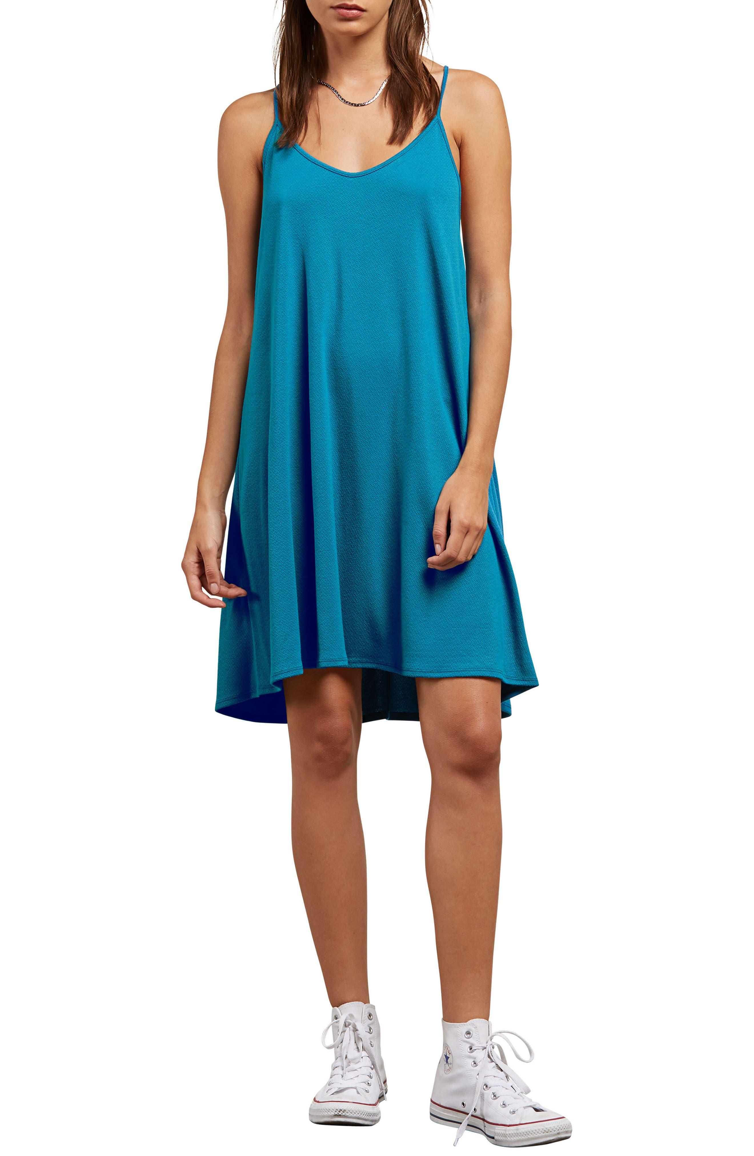 Dessert Vibes Dress,                         Main,                         color, Sea Blue