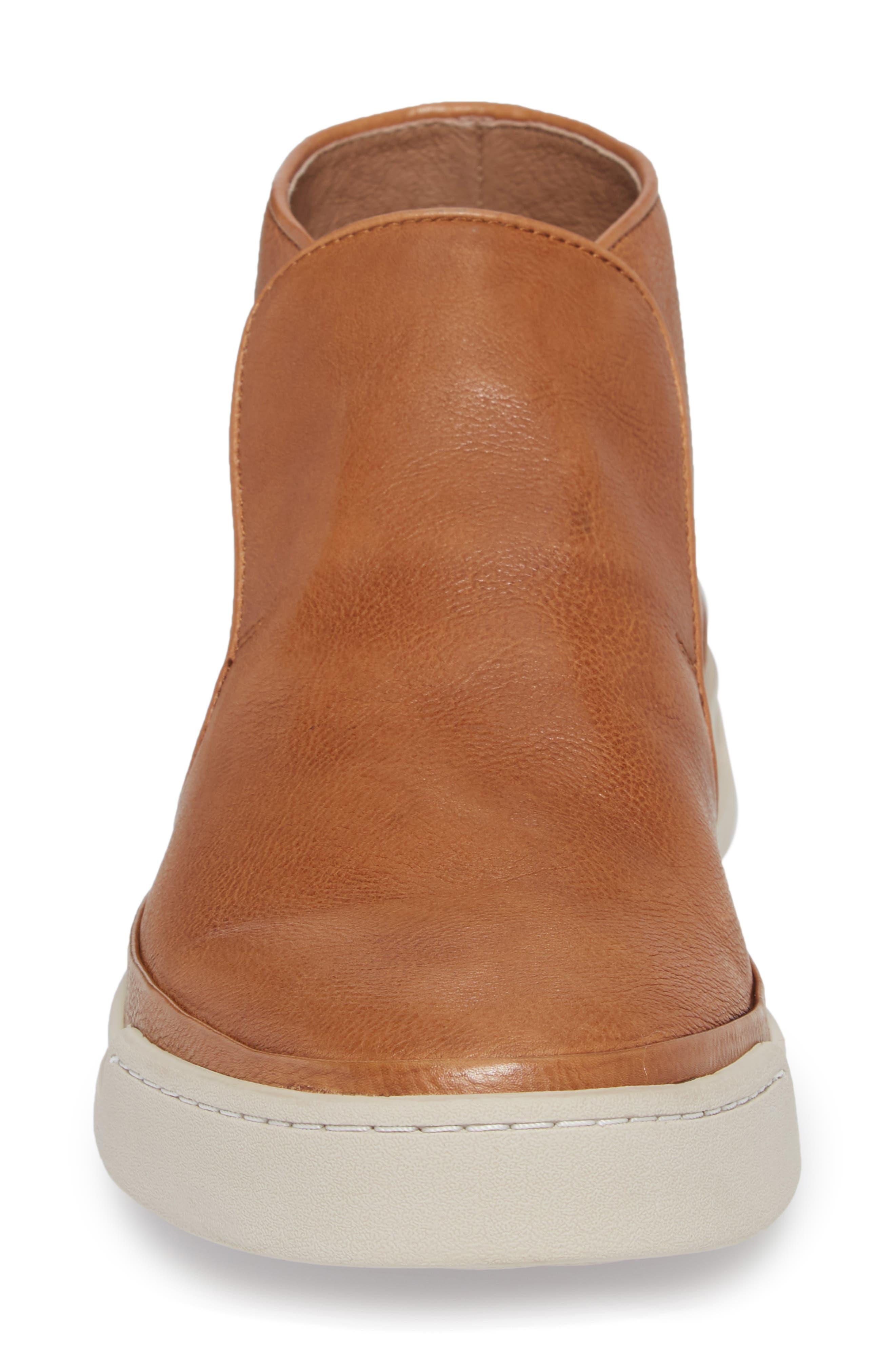 John Varvatos Star USA Remy Slip-On,                             Alternate thumbnail 4, color,                             Caramel Leather