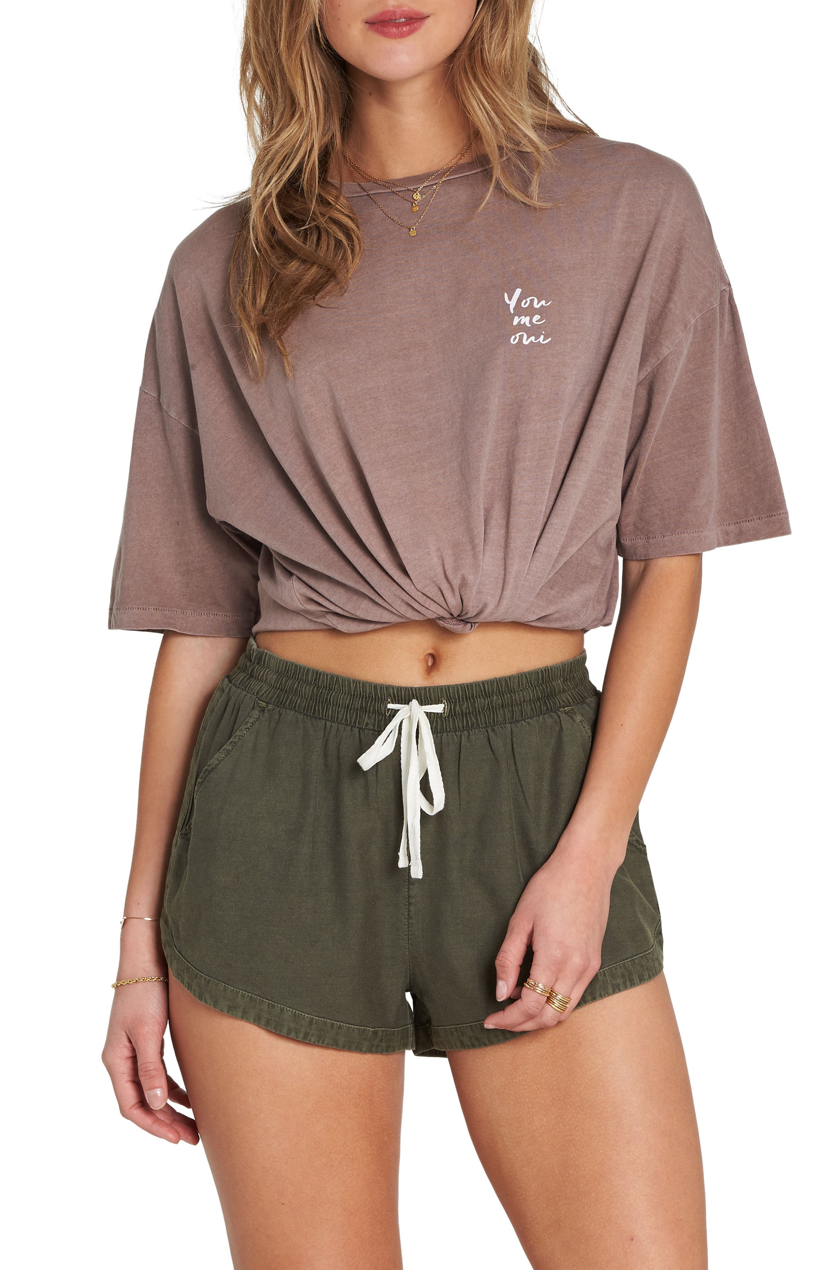 'Road Trippin' Shorts,                         Main,                         color, Olive
