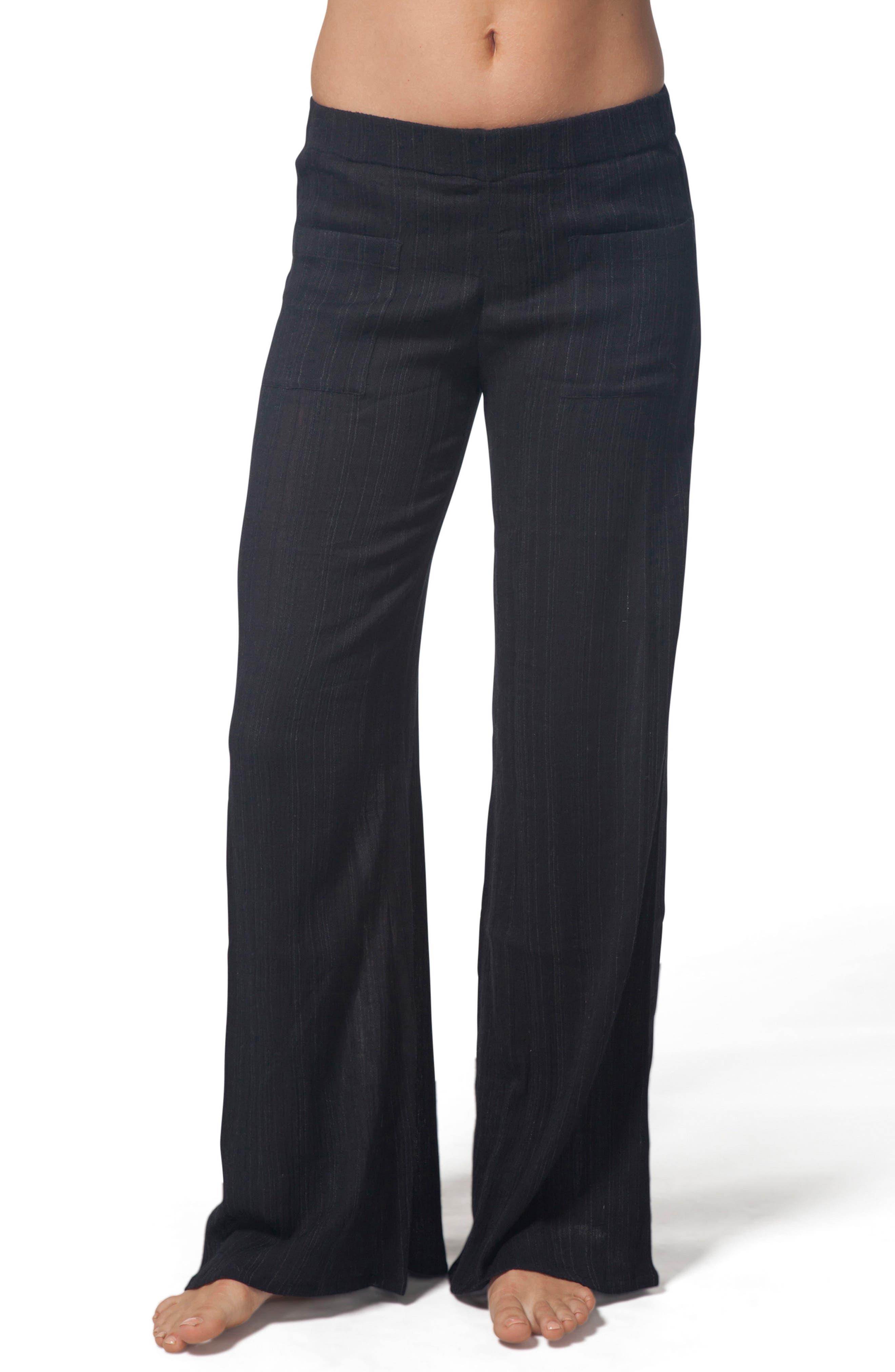 Classic Surf Beach Pants,                         Main,                         color, Black