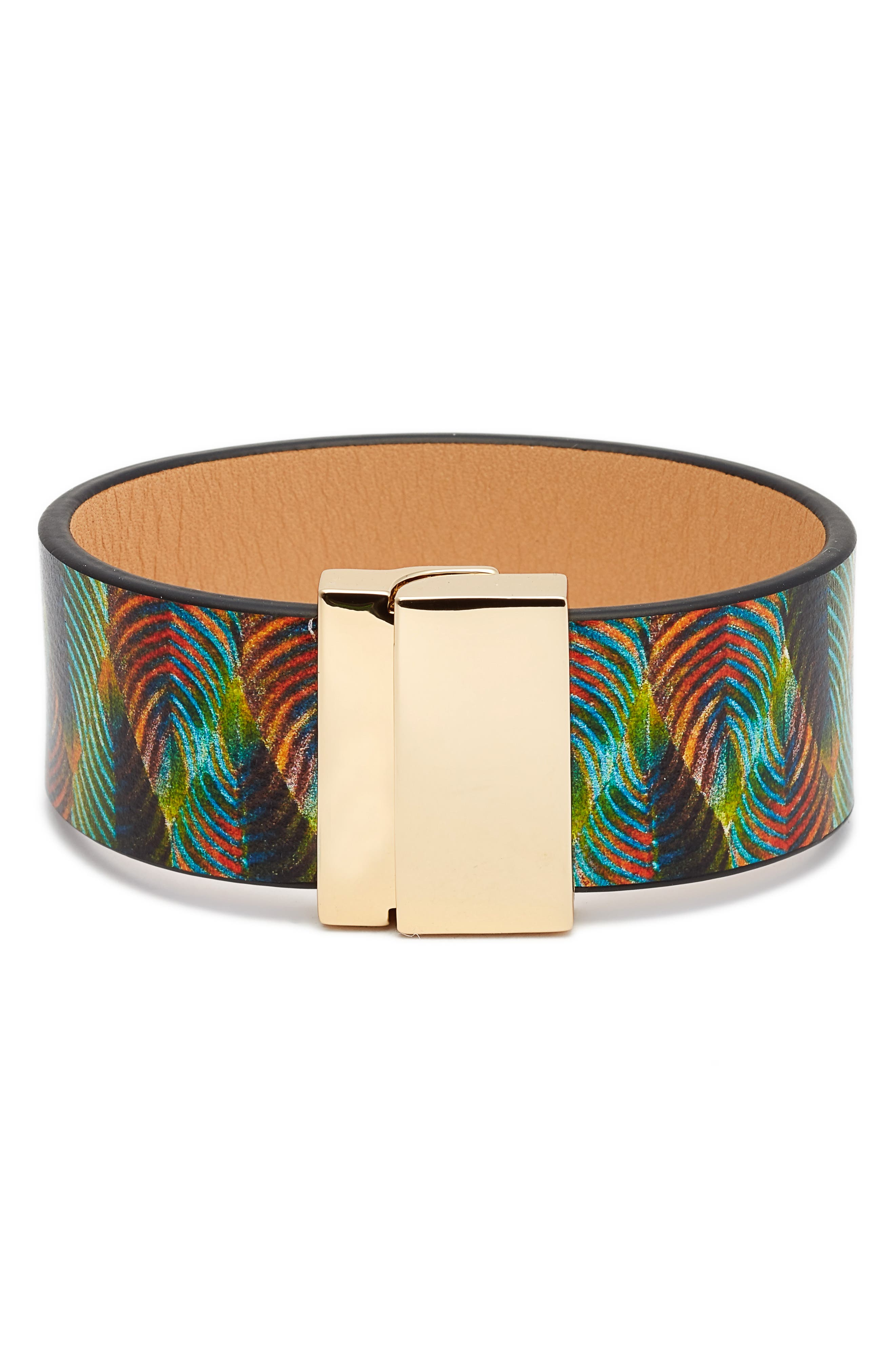 Vince Camuto Leather Strap Bracelet