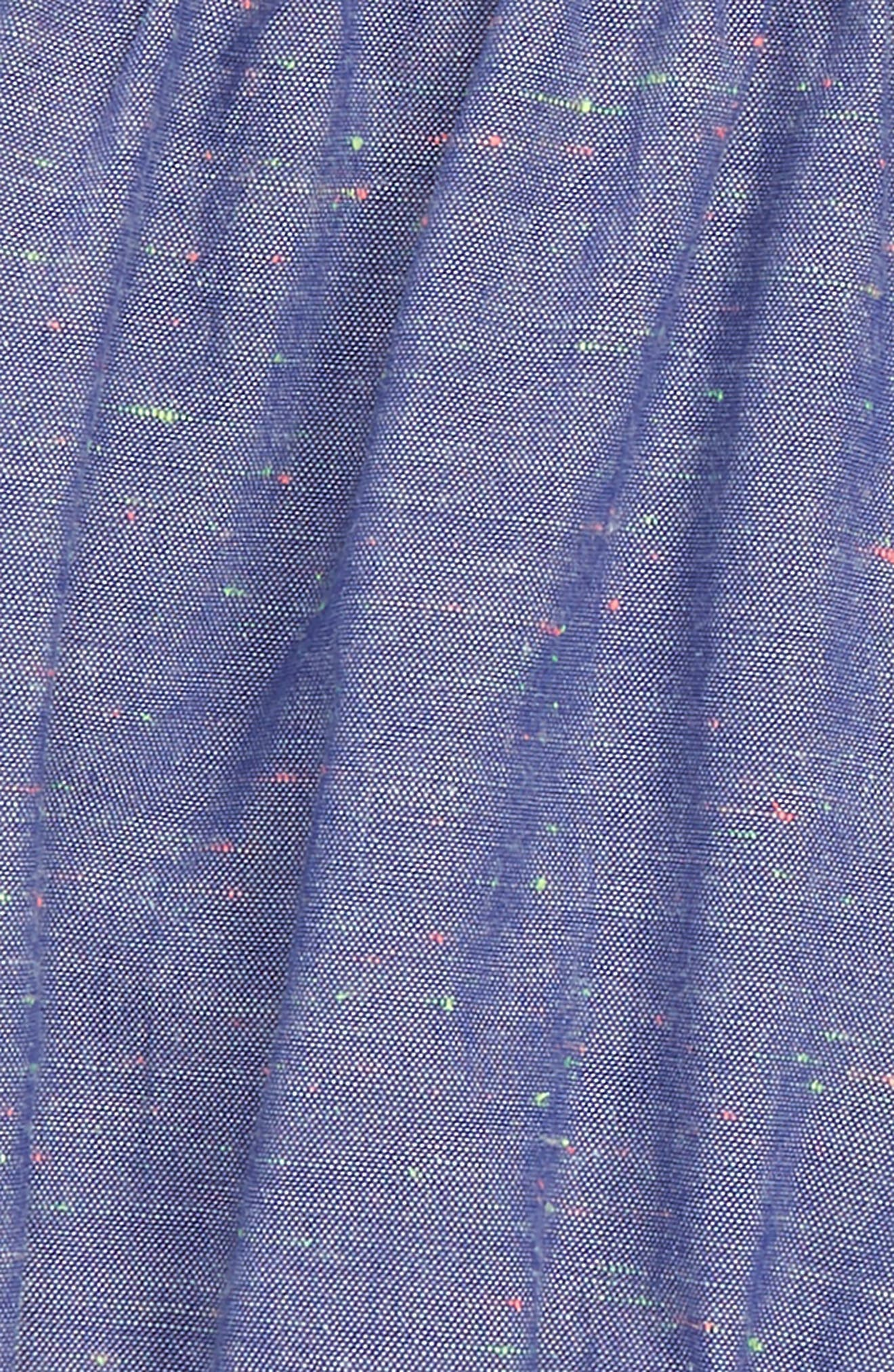 Chambray Bubble Shorts,                             Alternate thumbnail 2, color,                             Indigo
