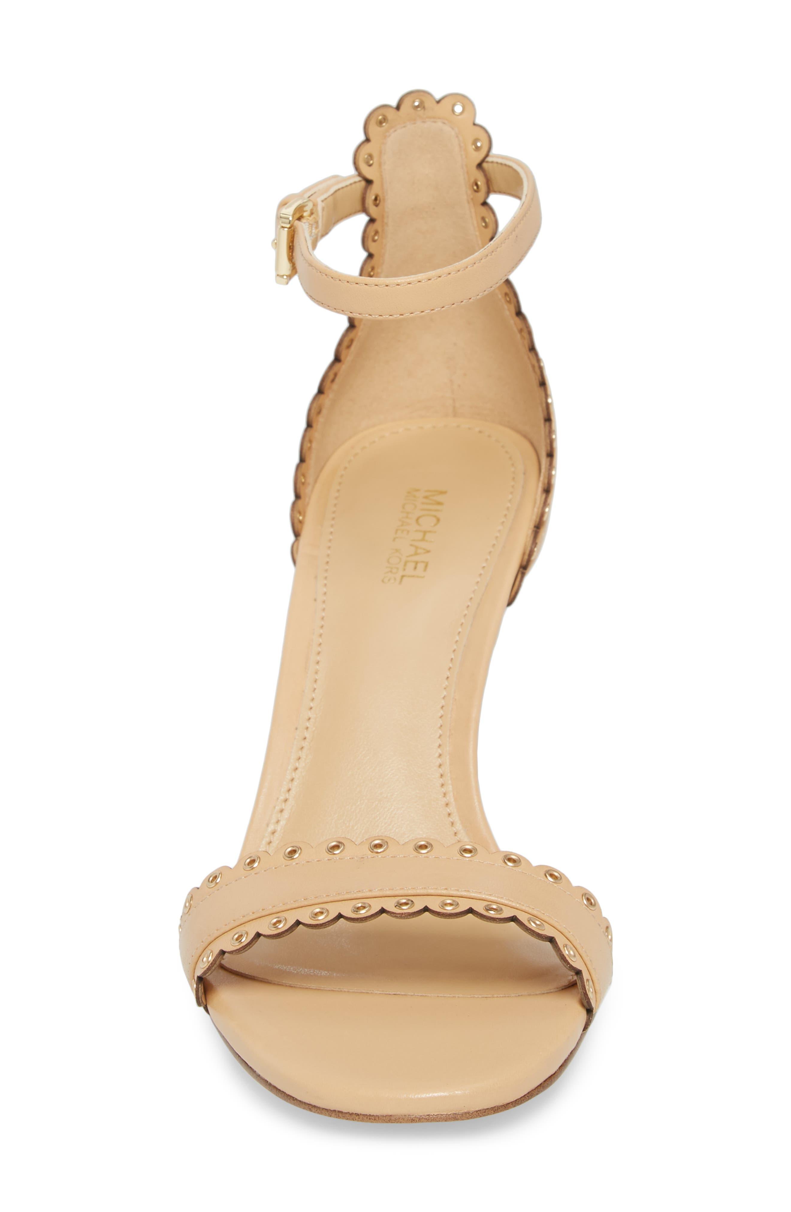 Jessie Sandal,                             Alternate thumbnail 4, color,                             Butternut Leather