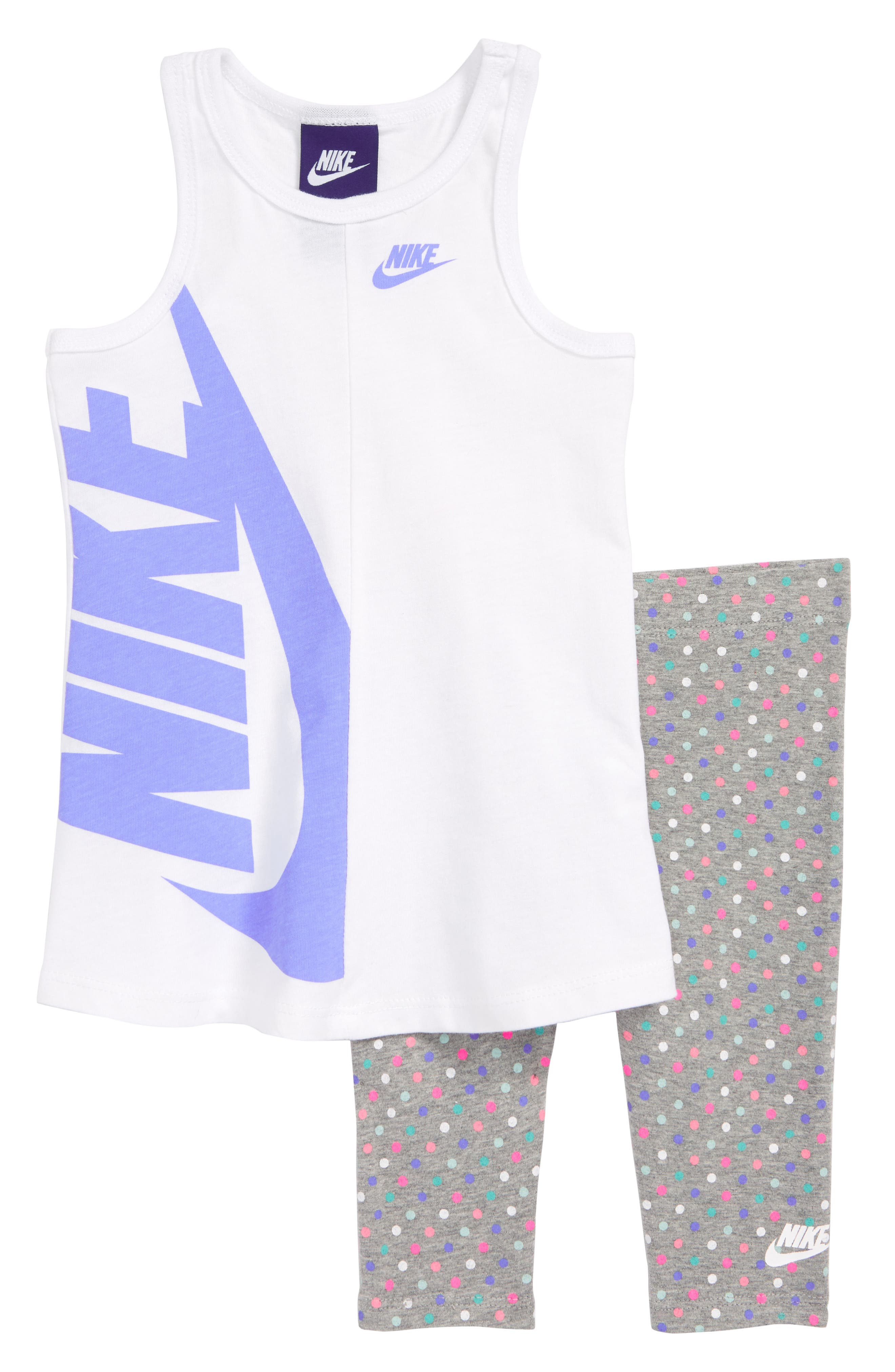 Nike Futura Tank & Capri Leggings Set (Baby Girls)