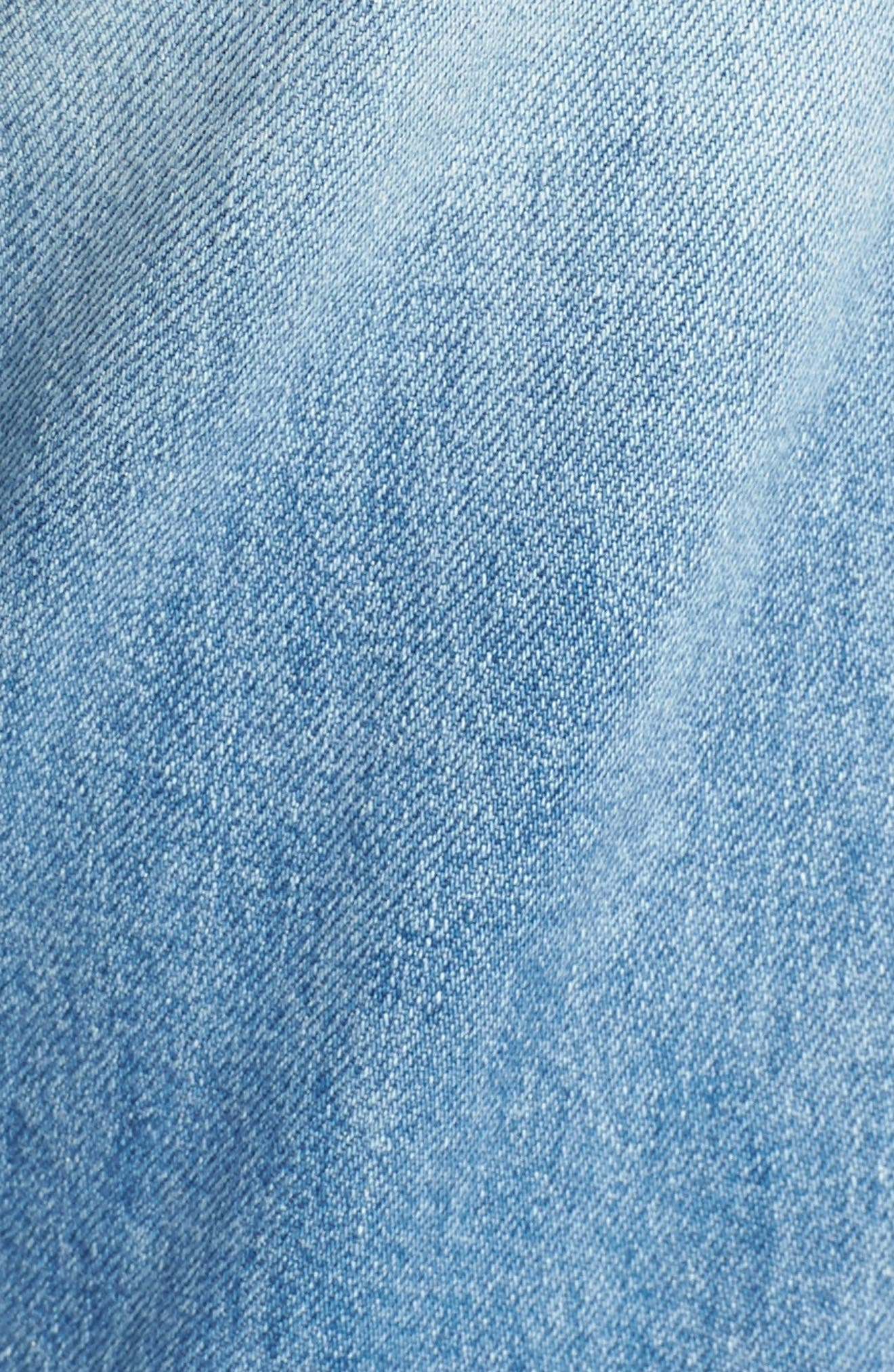 The Tripper Ripped Ankle Flare Jeans,                             Alternate thumbnail 6, color,                             Misbeliever