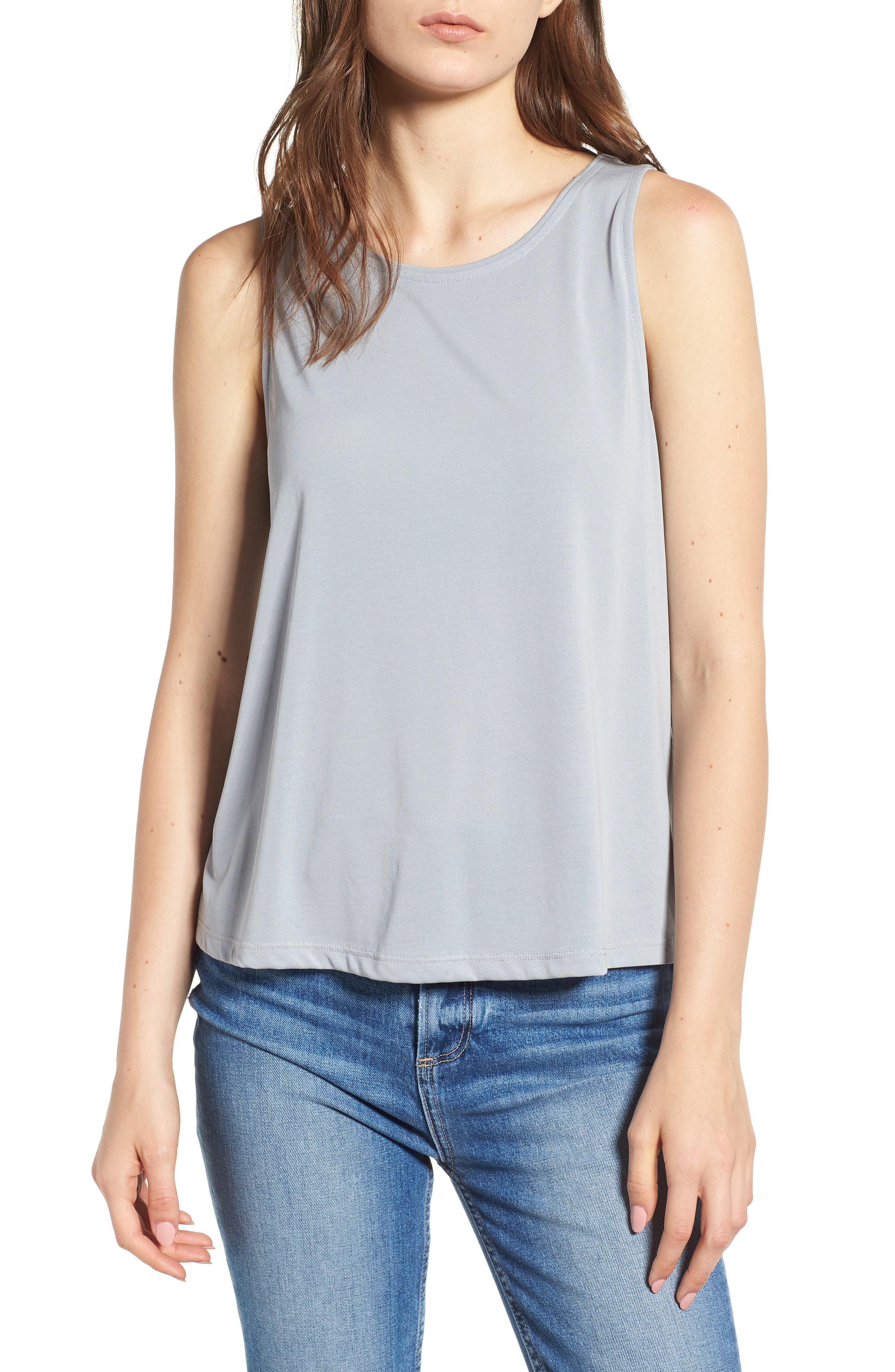 Relaxed Tank,                         Main,                         color, Steel