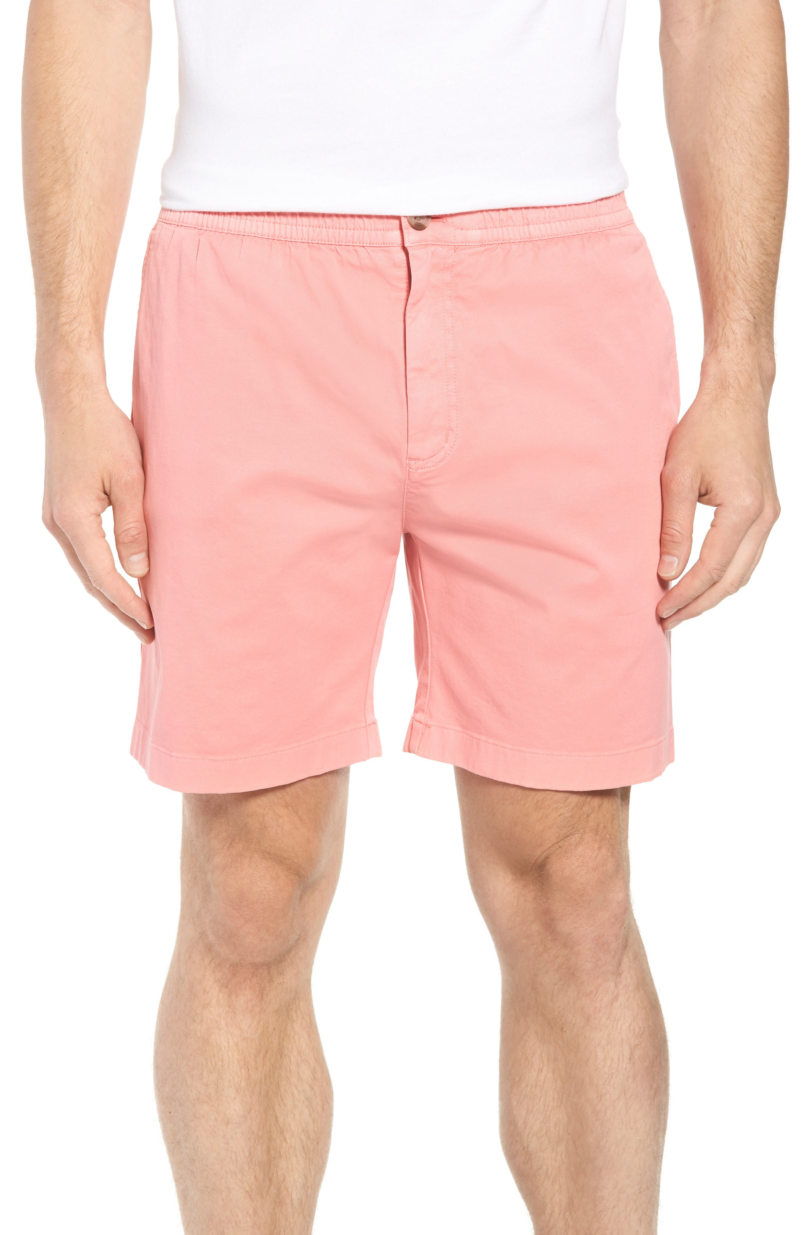 Jetty Stretch Cotton Shorts,                             Main thumbnail 1, color,                             Cape Coral