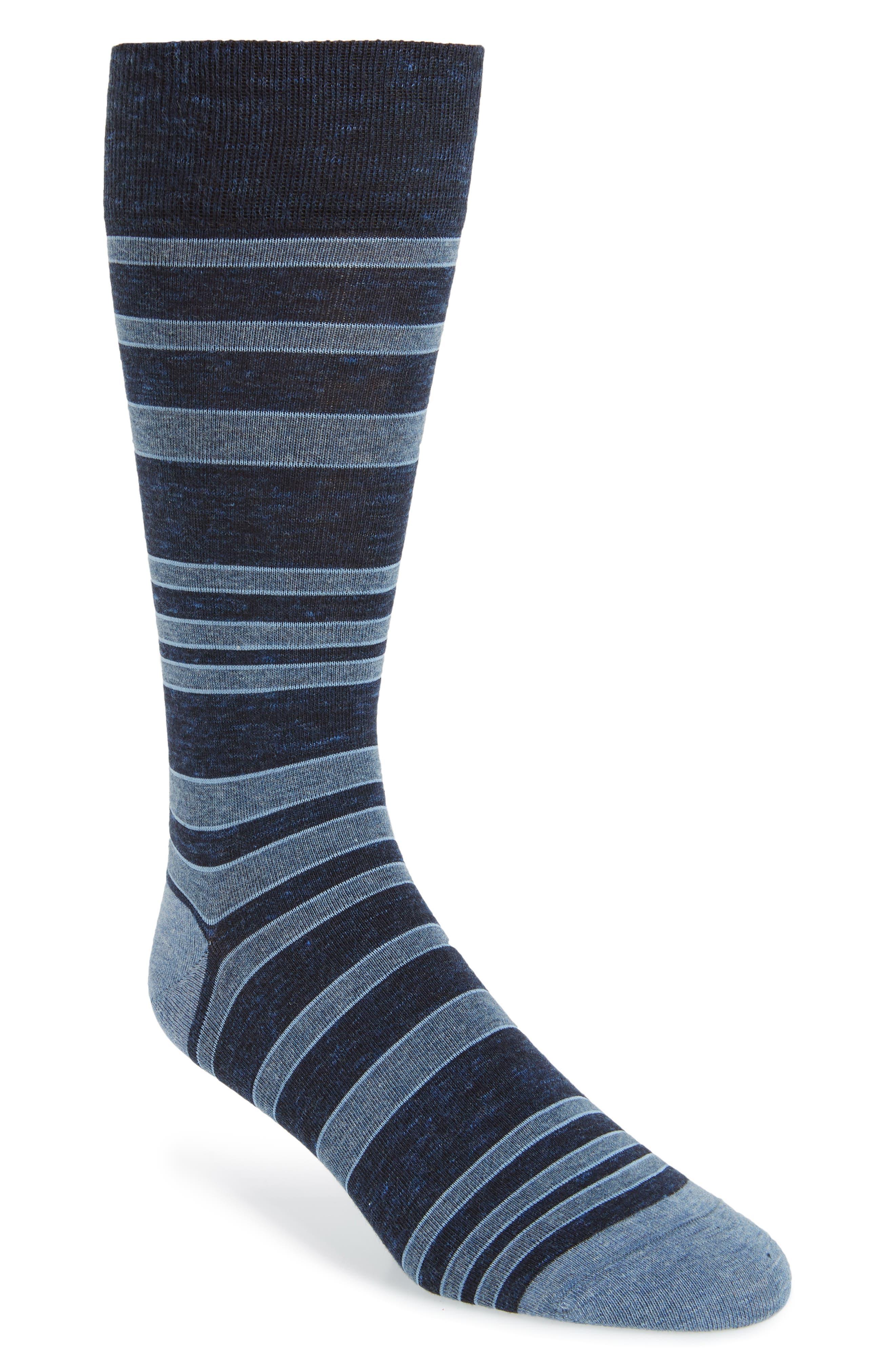 Cole Haan Light House Stripe Socks