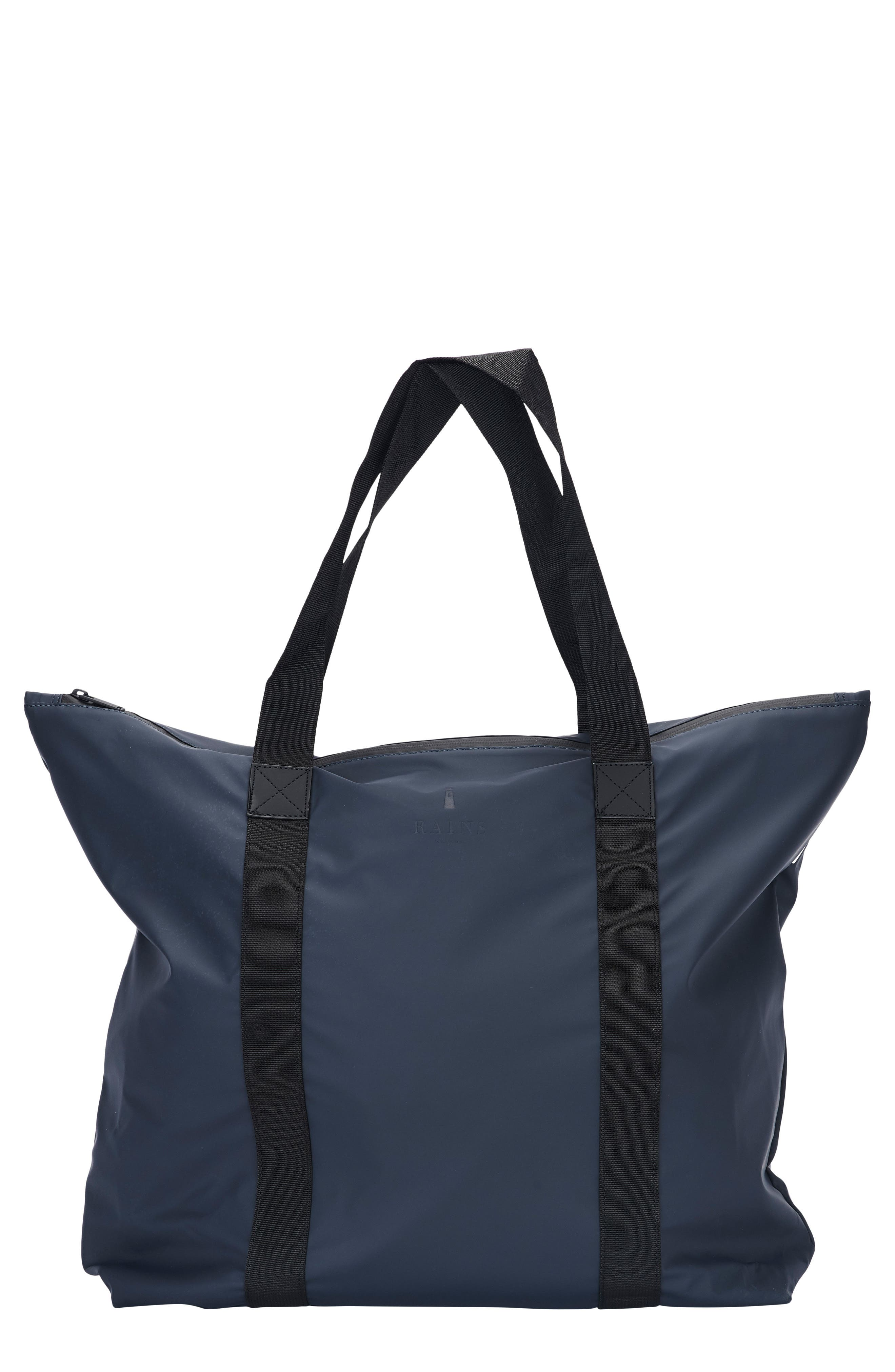 Waterproof Tote Bag,                         Main,                         color, Blue