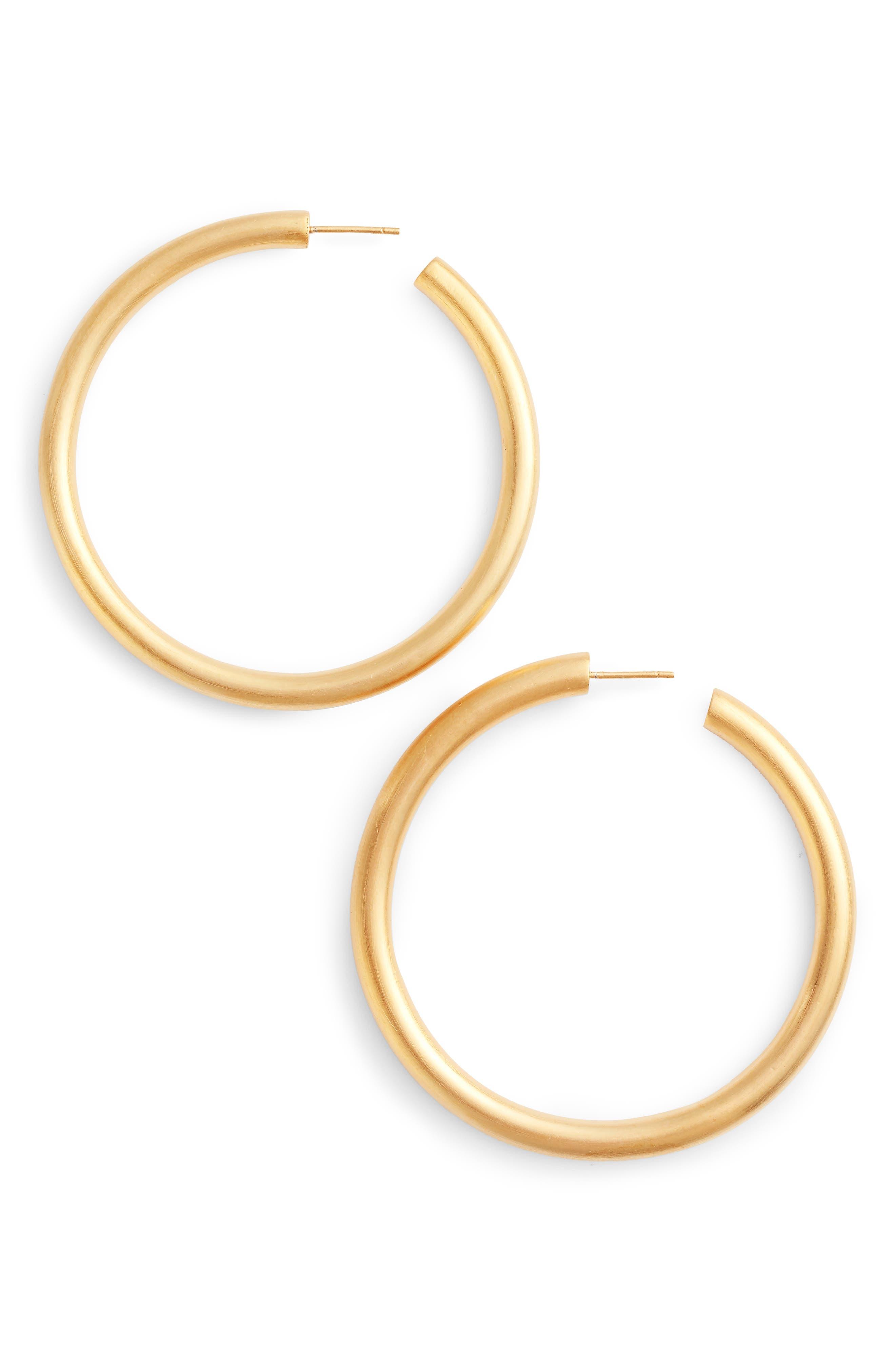 Ipanema Hoop Earrings,                             Main thumbnail 1, color,                             Gold