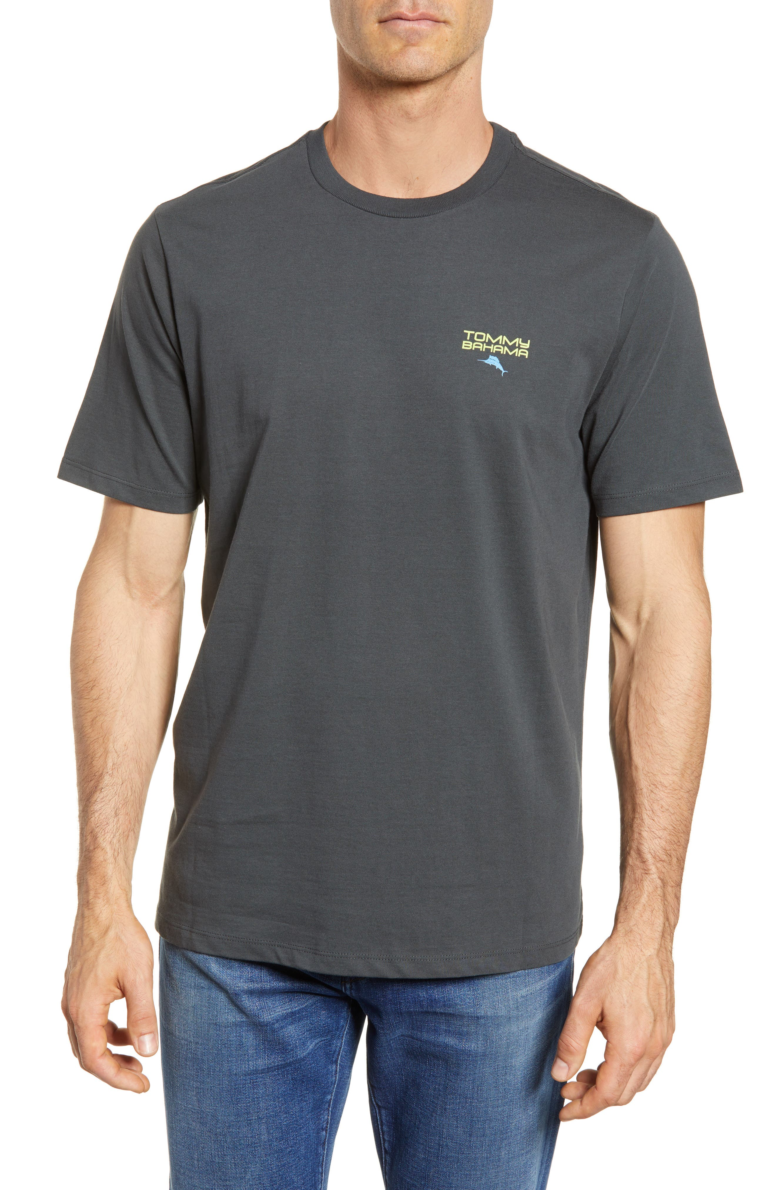 Digital T-Shirt,                         Main,                         color, Coal