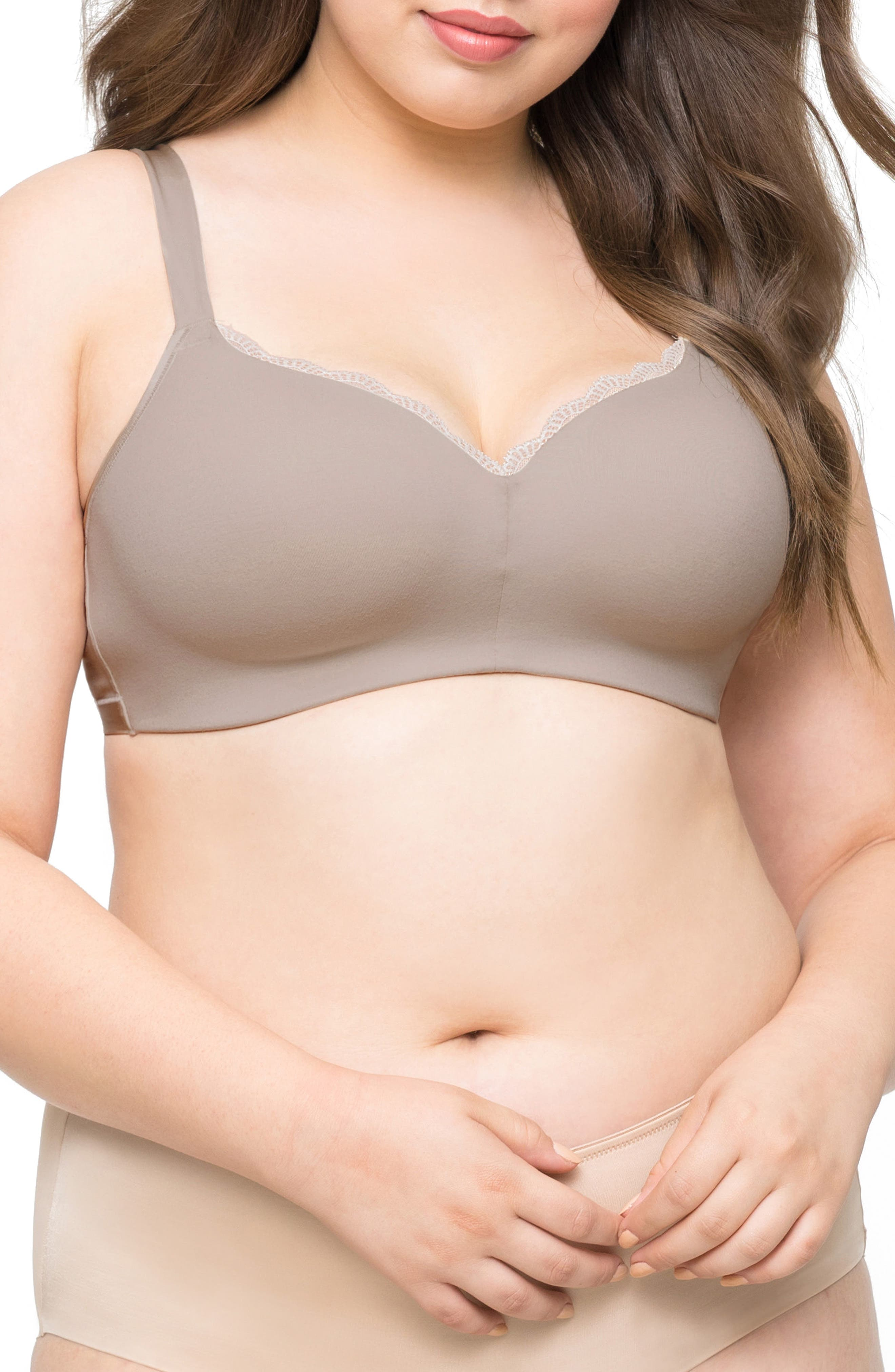 Curvy Couture Luxe Wireless Bra