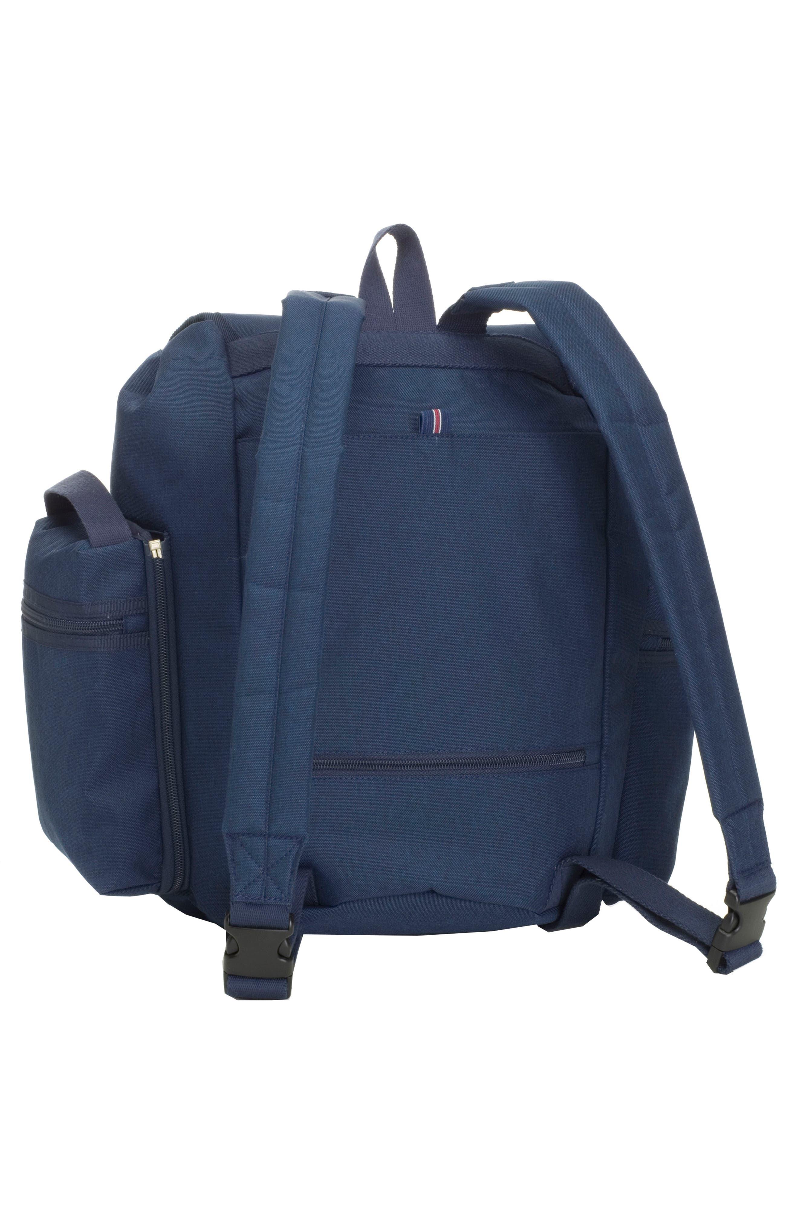 Travel Backpack Diaper Bag,                             Alternate thumbnail 4, color,                             Navy