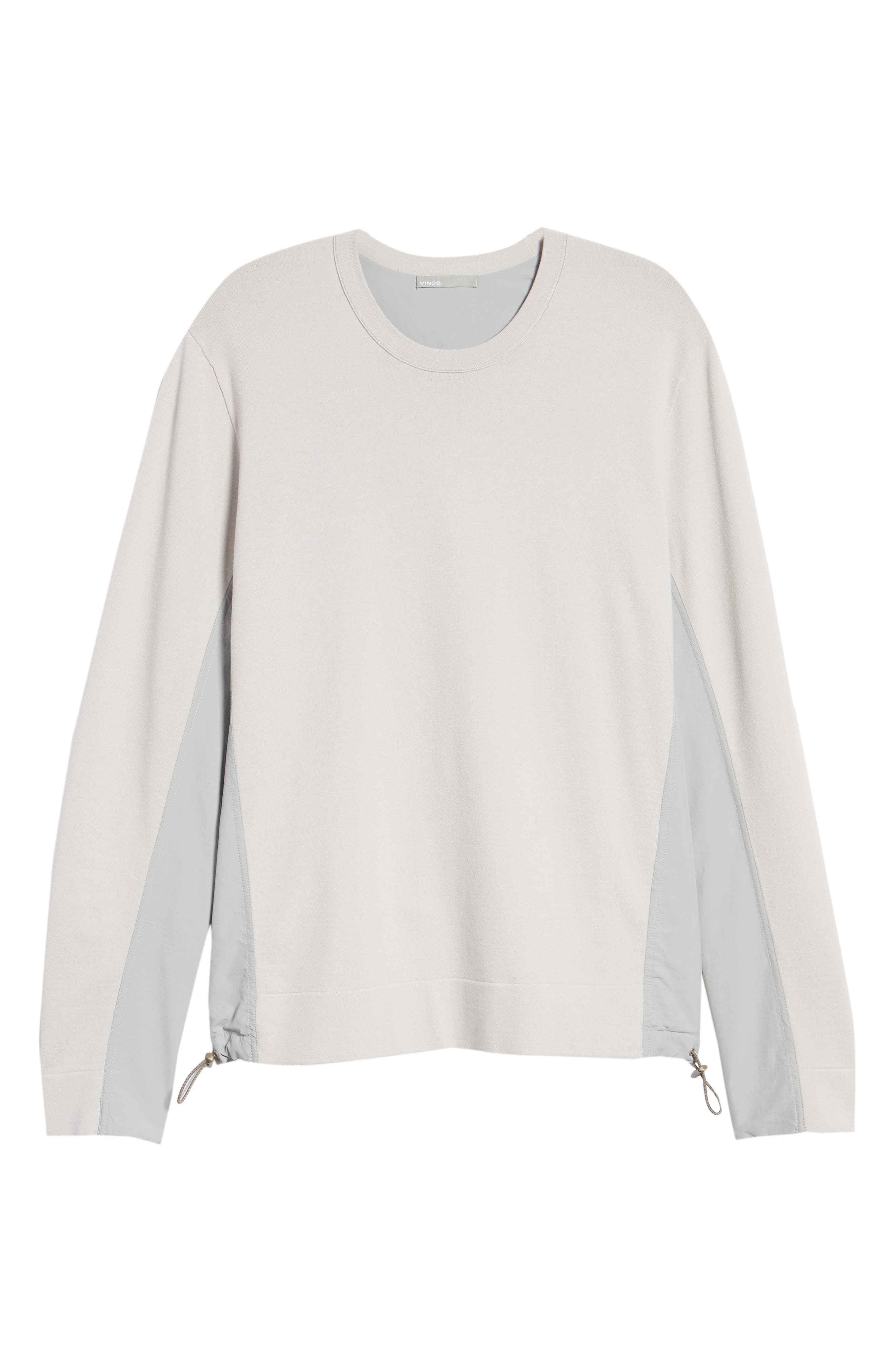 Crewneck Sweatshirt,                             Alternate thumbnail 6, color,                             Cloud