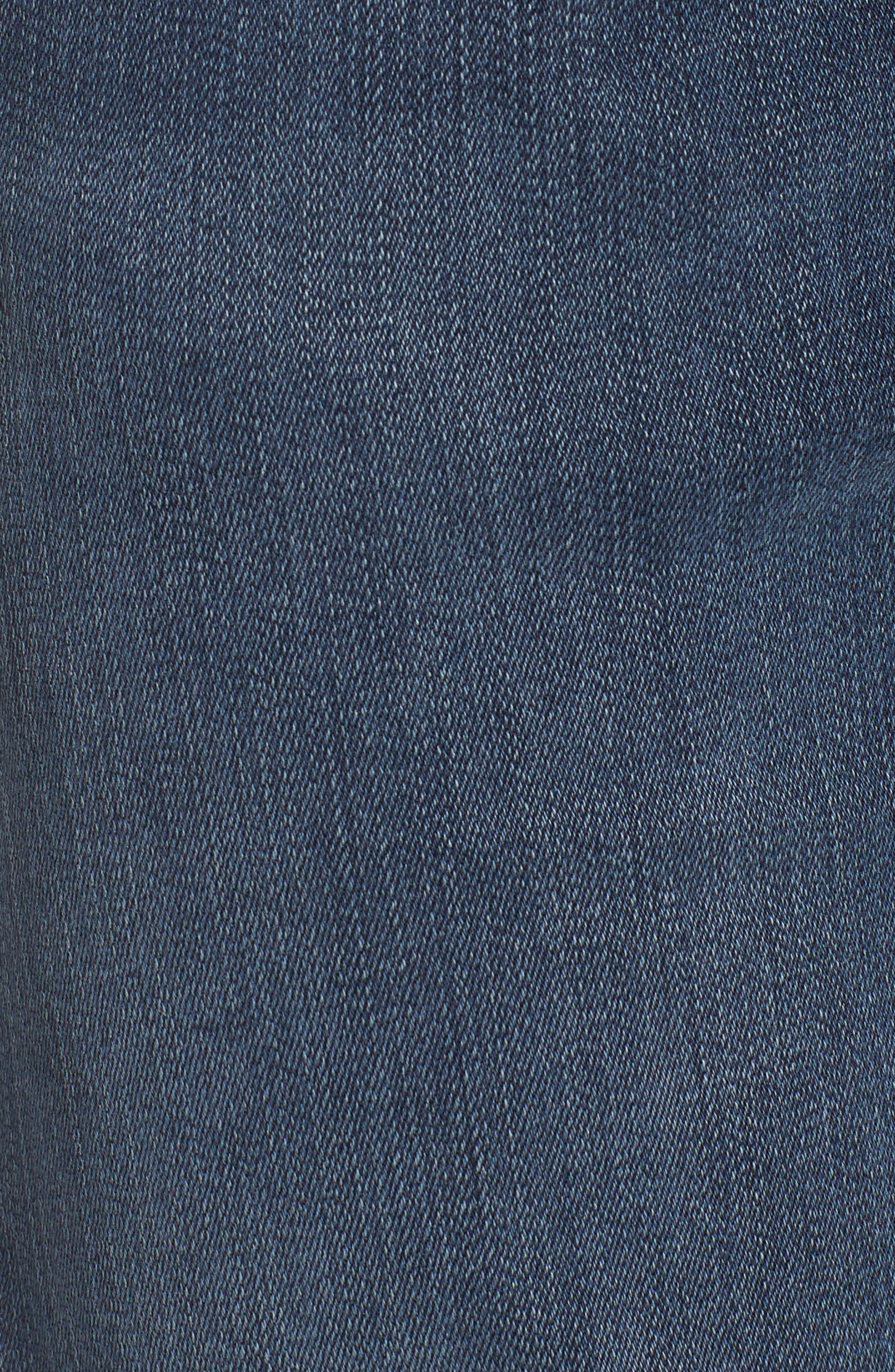Jimmy Slim Straight Leg Jeans,                             Alternate thumbnail 5, color,                             Lexicon