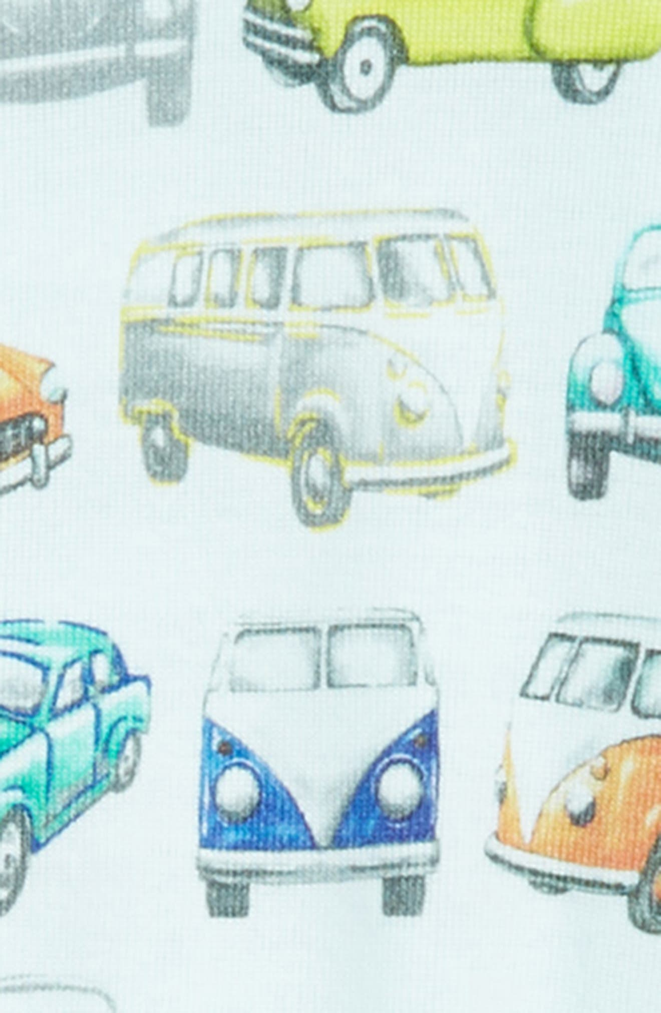 Road Trip Footie & Hat Set,                             Alternate thumbnail 2, color,                             Multi