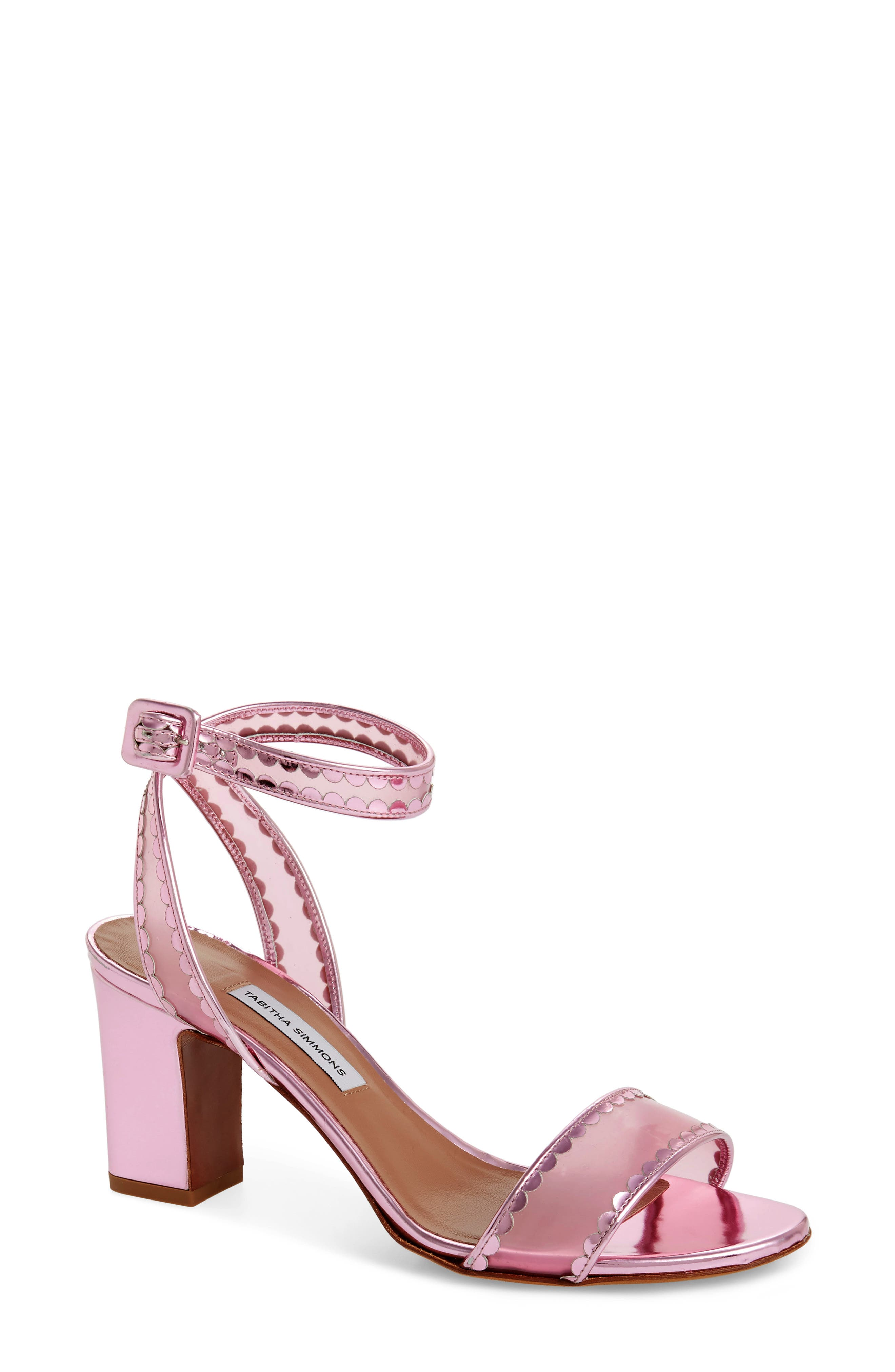 Tabitha Simmons Leticia Clear Ankle Strap Sandal (Women)