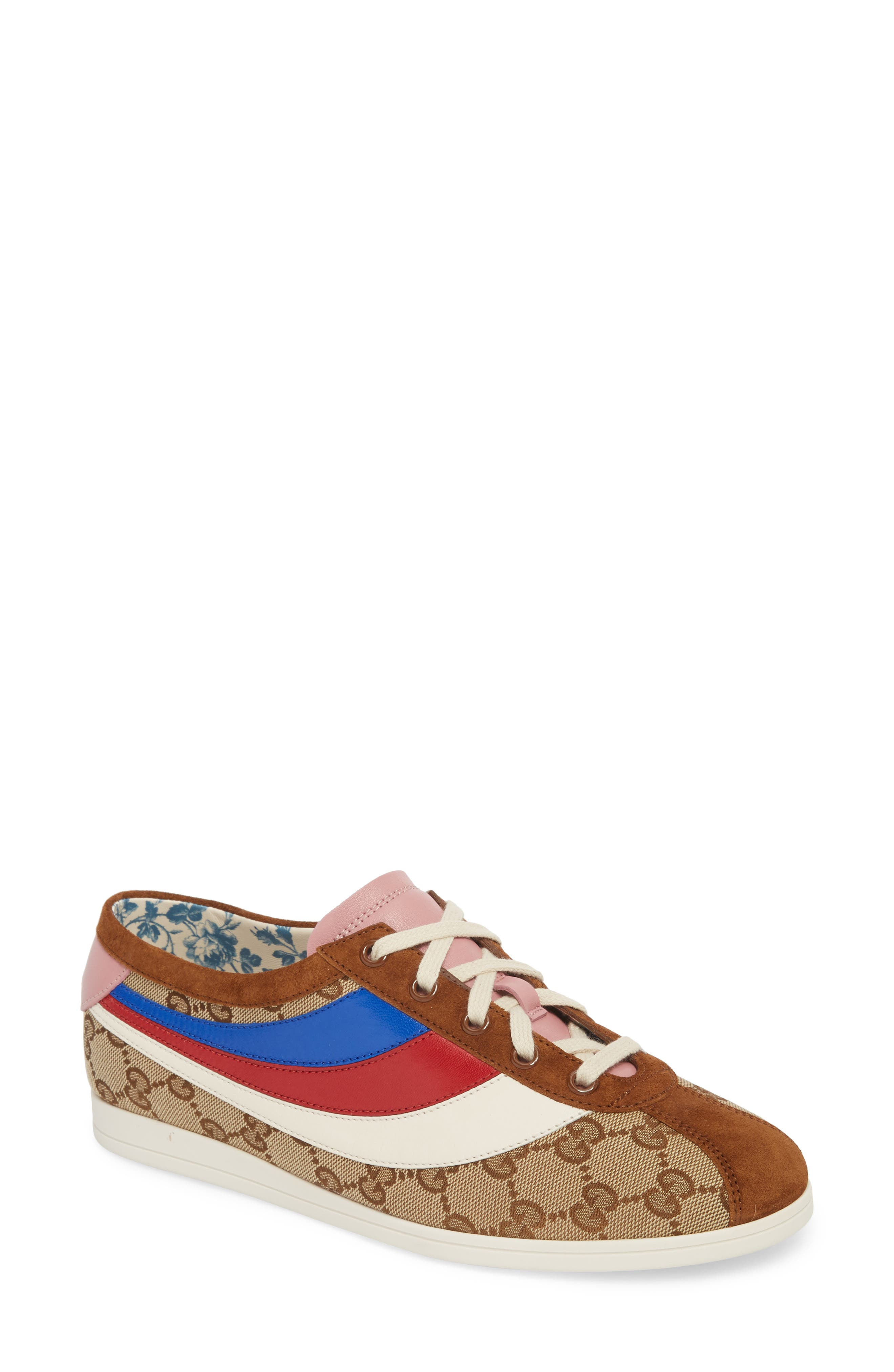 Gucci Falacer Lace-Up Sneaker (Women)