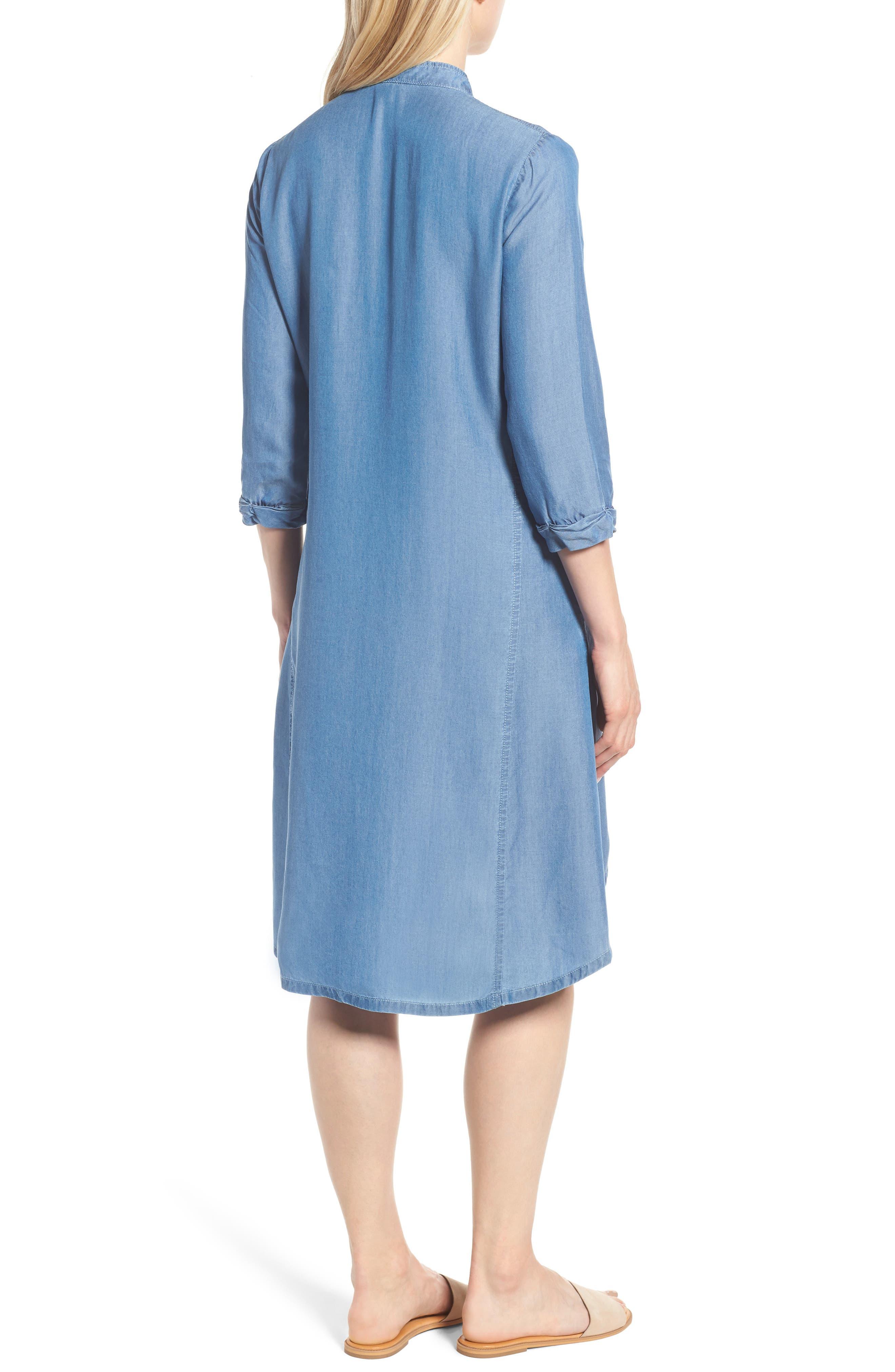 Festival Moonlit Tunic Dress,                             Alternate thumbnail 2, color,                             Blue Haze