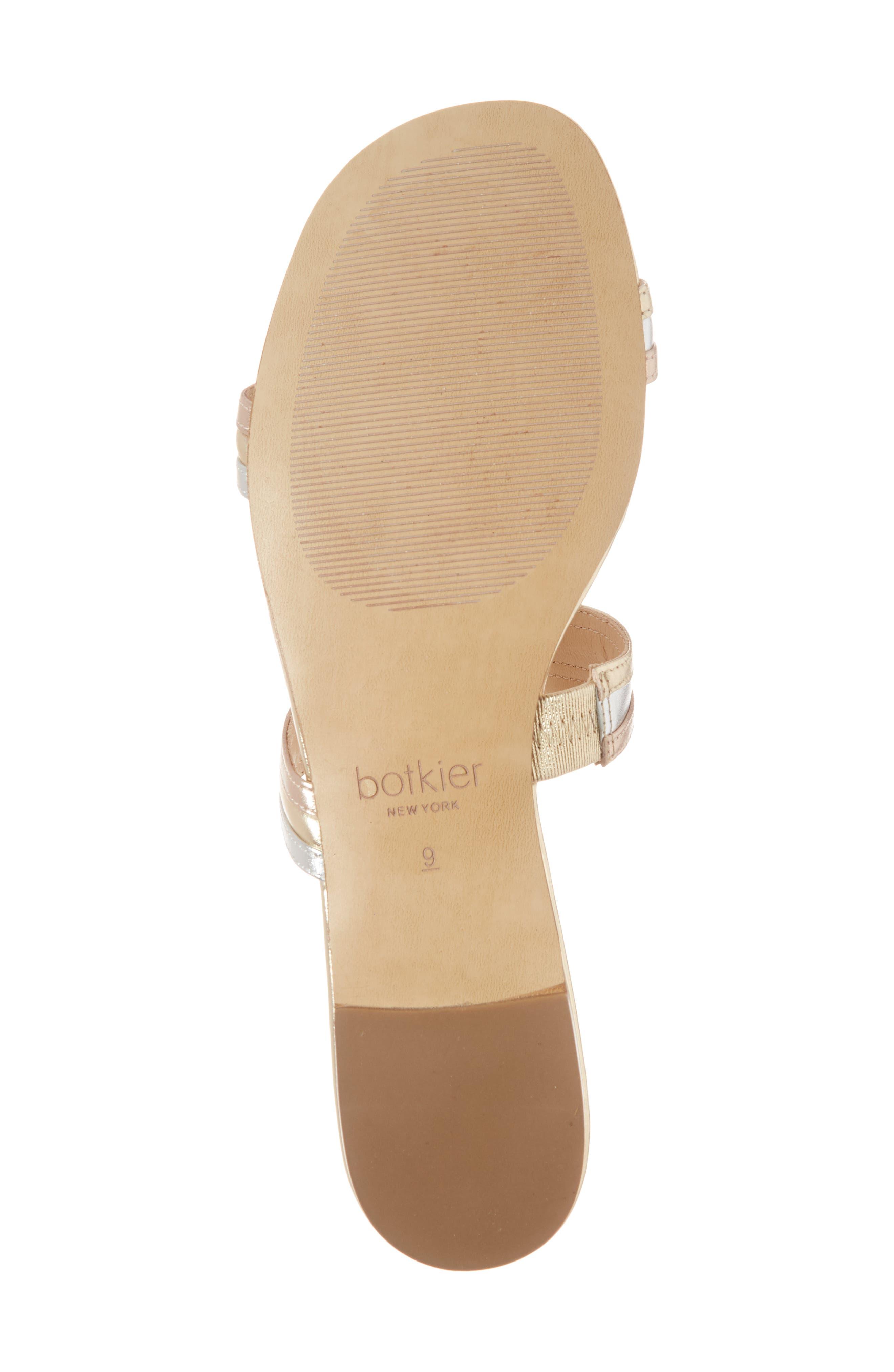 Maise Slide Sandal,                             Alternate thumbnail 6, color,                             Ivory Multi Leather