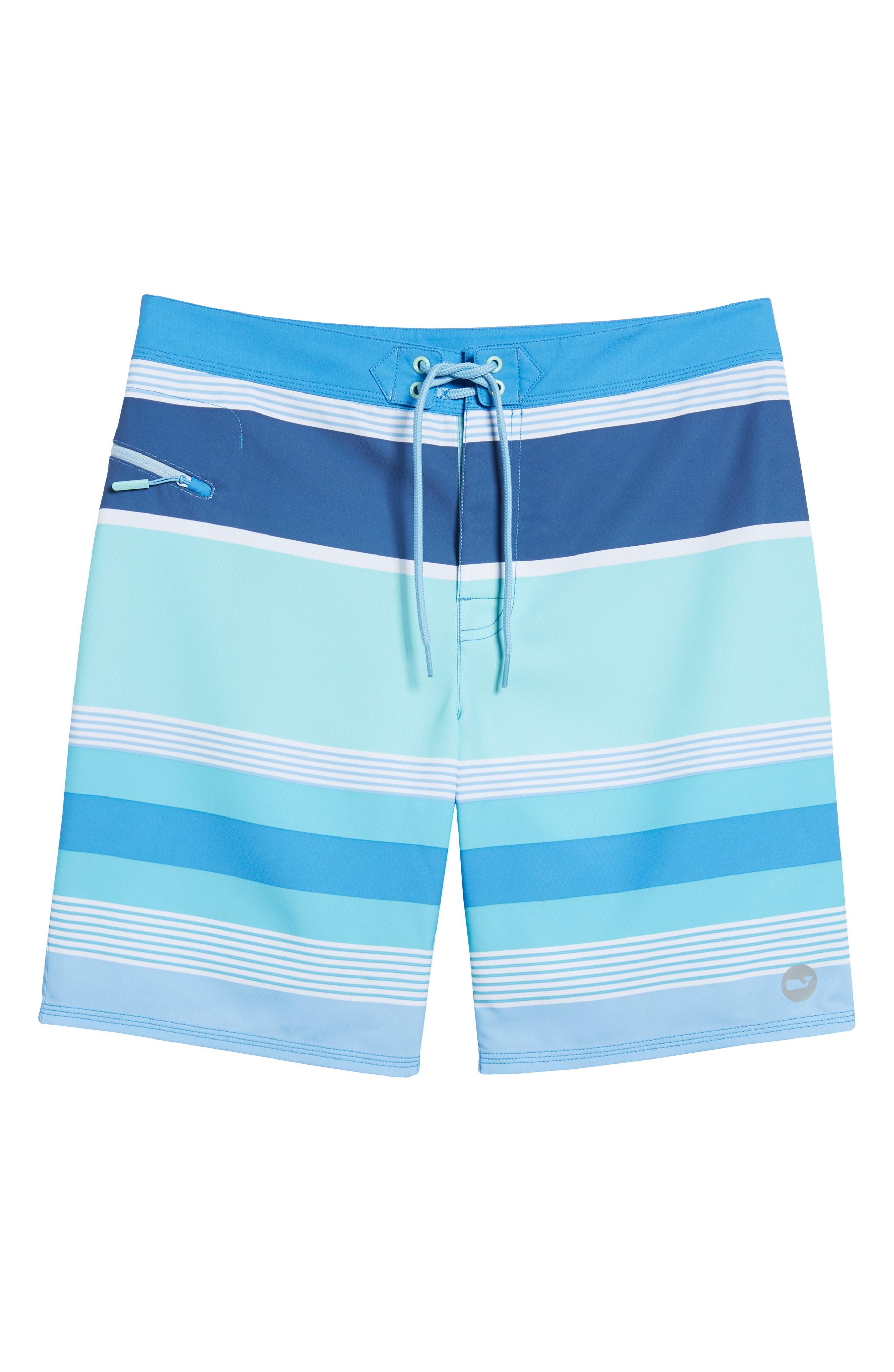 Peaks Island Board Shorts,                             Alternate thumbnail 6, color,                             Poolside