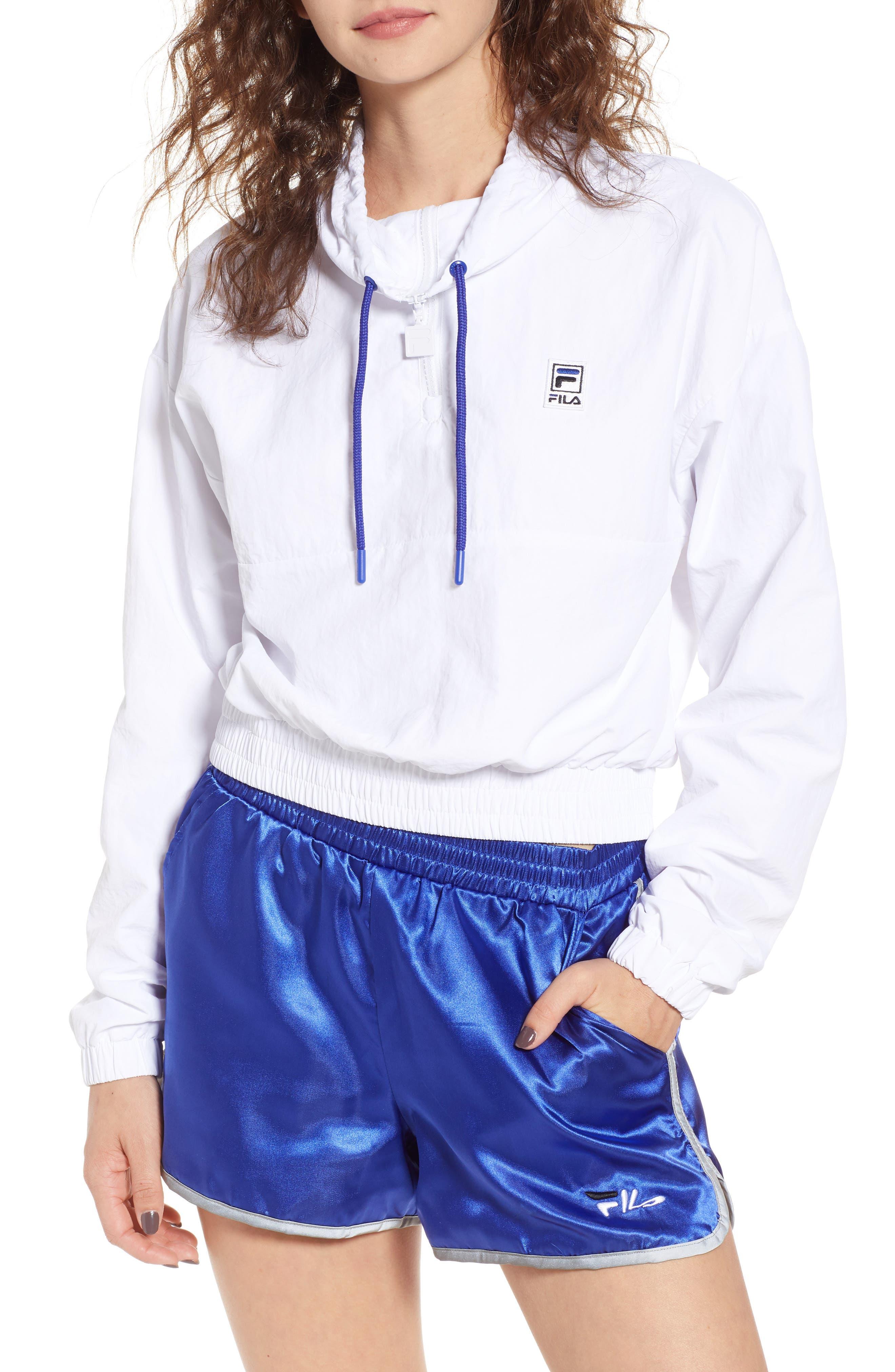 FILA Kayla Quarter Zip Nylon Pullover