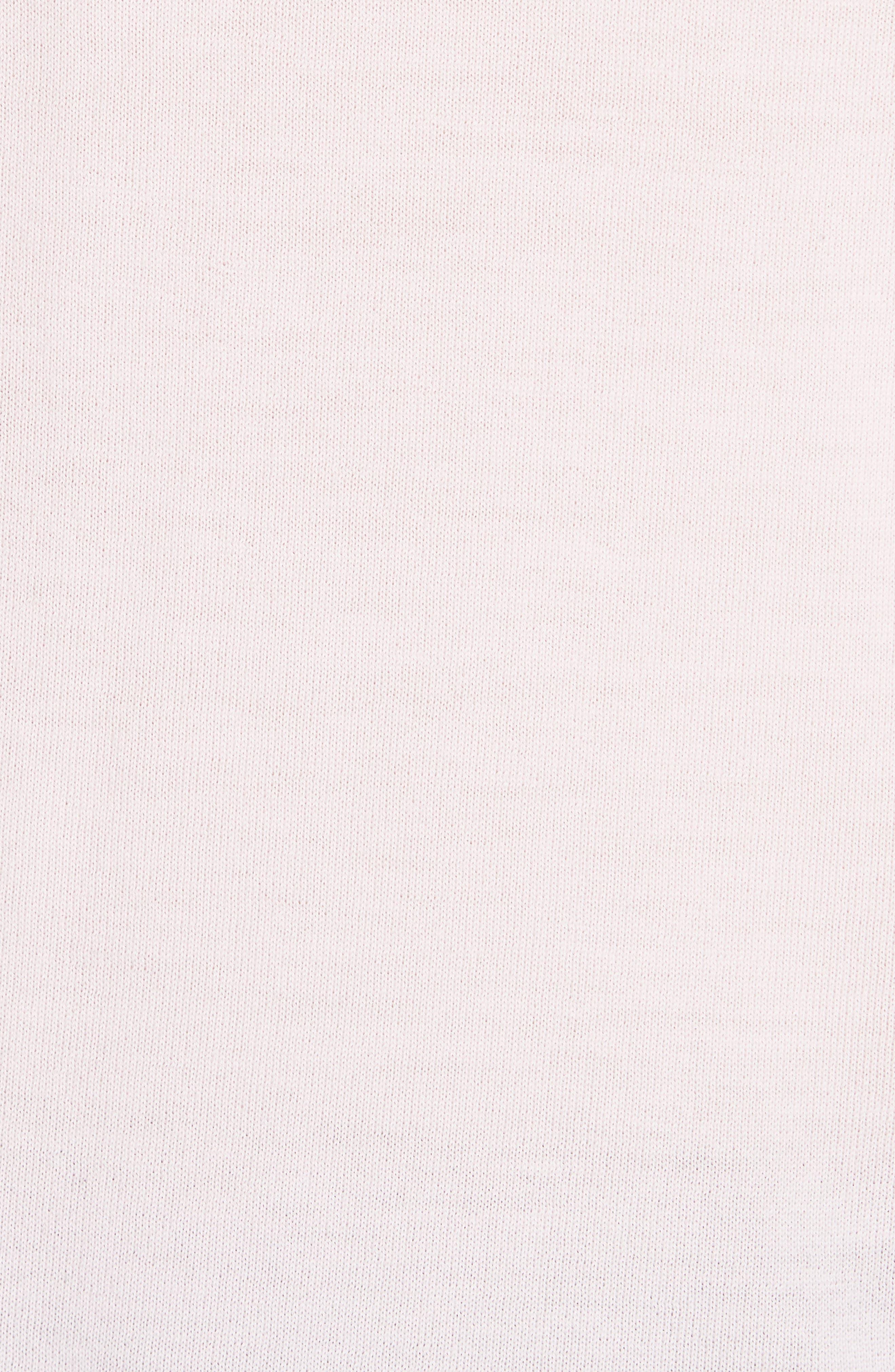 Viar Merino Wool Sweater,                             Alternate thumbnail 5, color,                             Light Pink