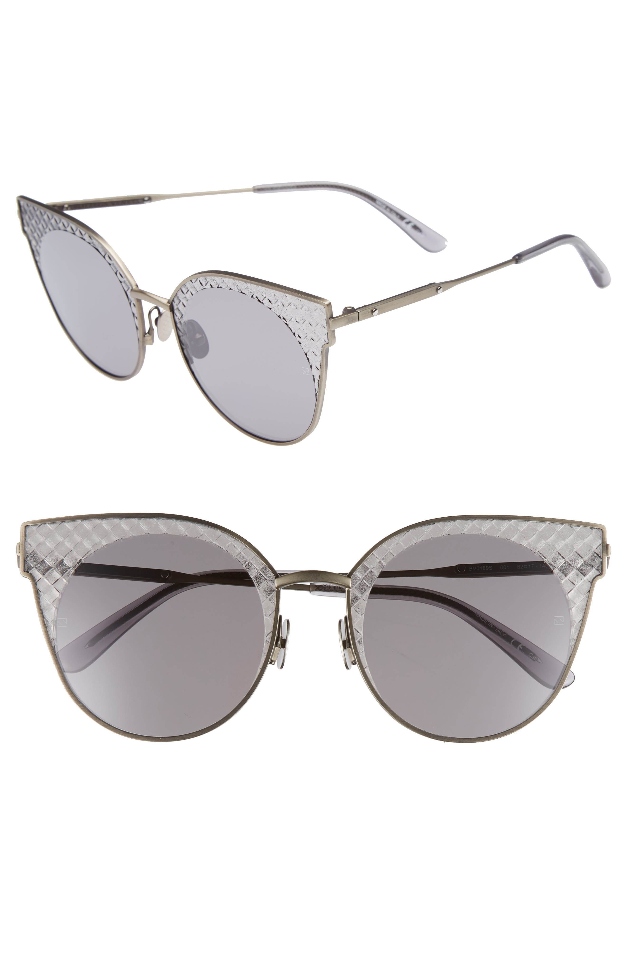 Bottega Veneta 62mm Sunglasses