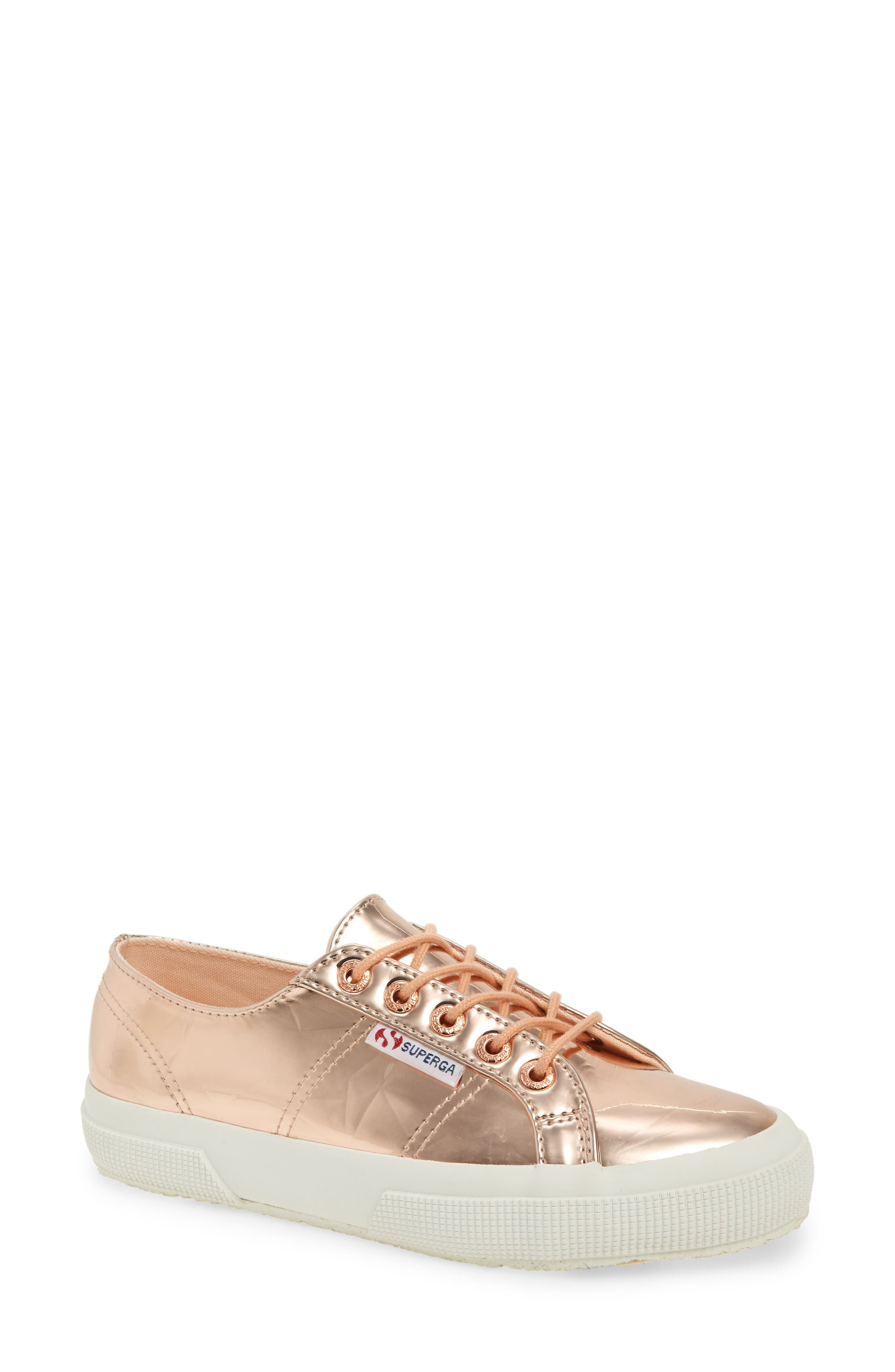 2750 Synleadiamondmirror Sneaker,                             Main thumbnail 1, color,                             Rose Gold