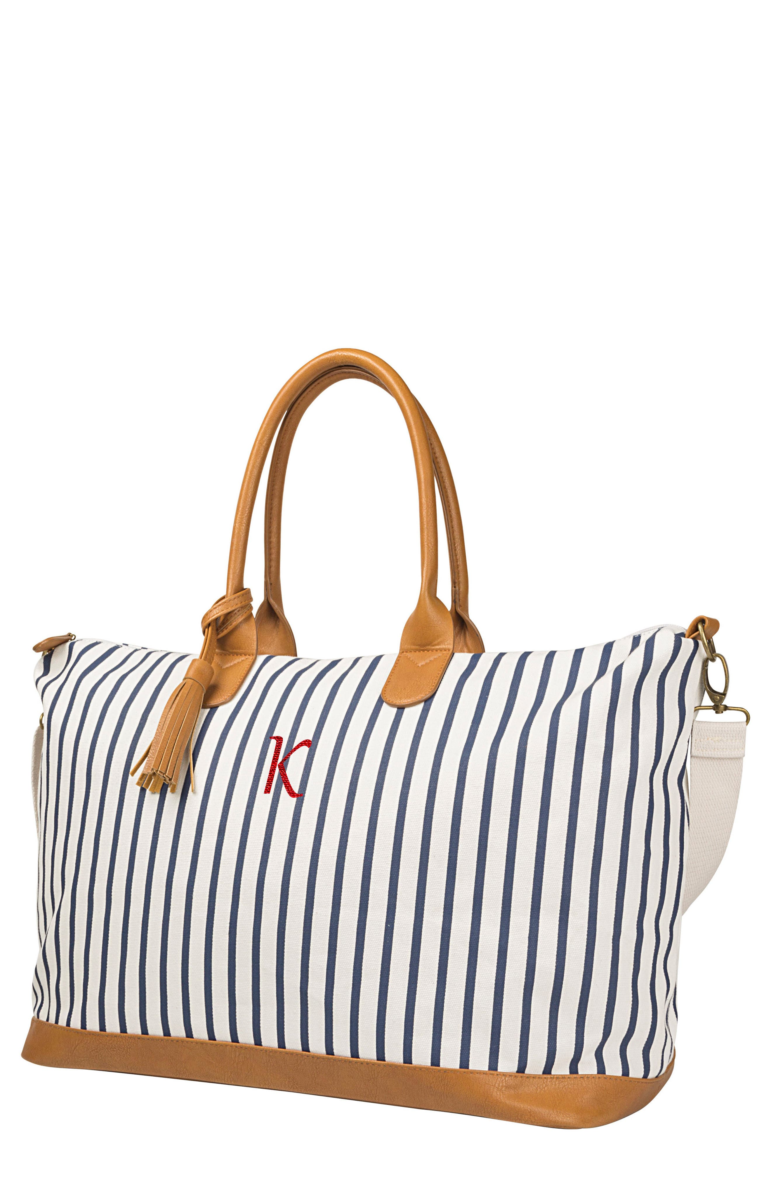 Monogram Oversized Tote,                         Main,                         color, Blue K