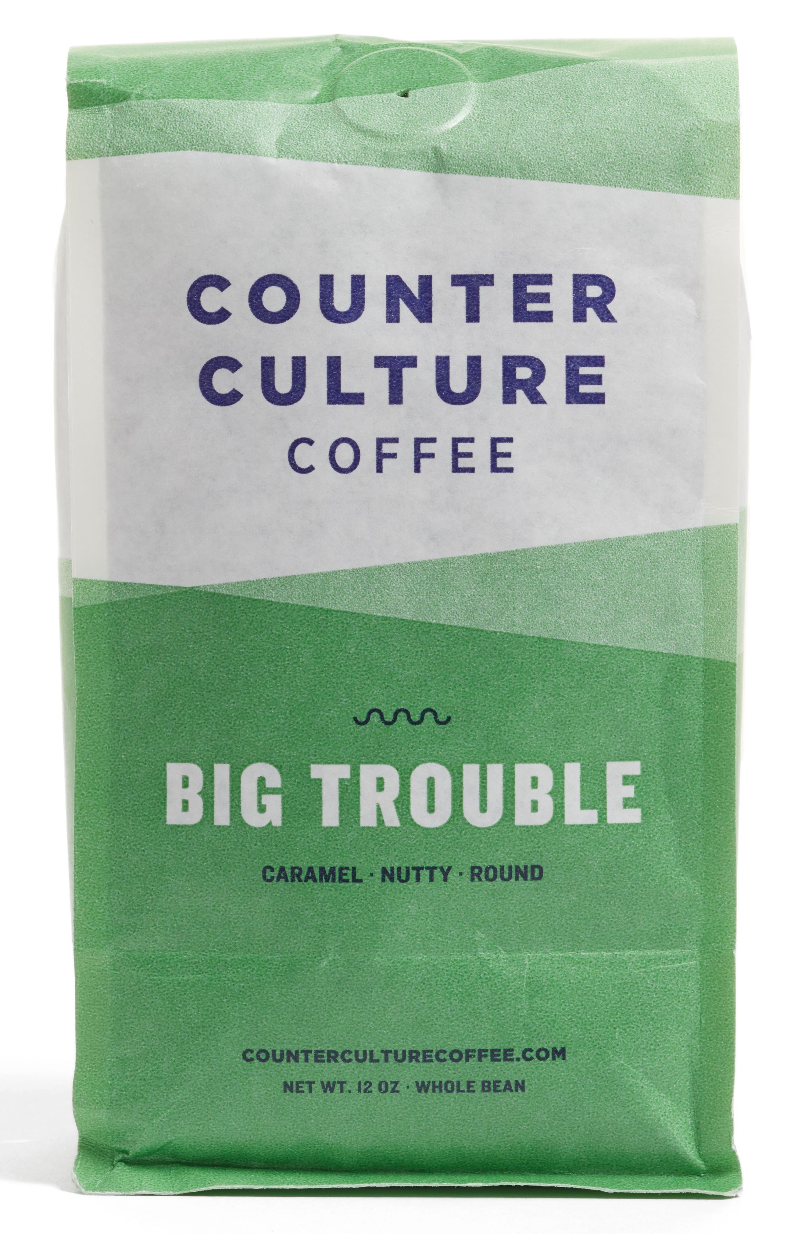Big Trouble Whole Bean Coffee Blend,                             Main thumbnail 1, color,                             None