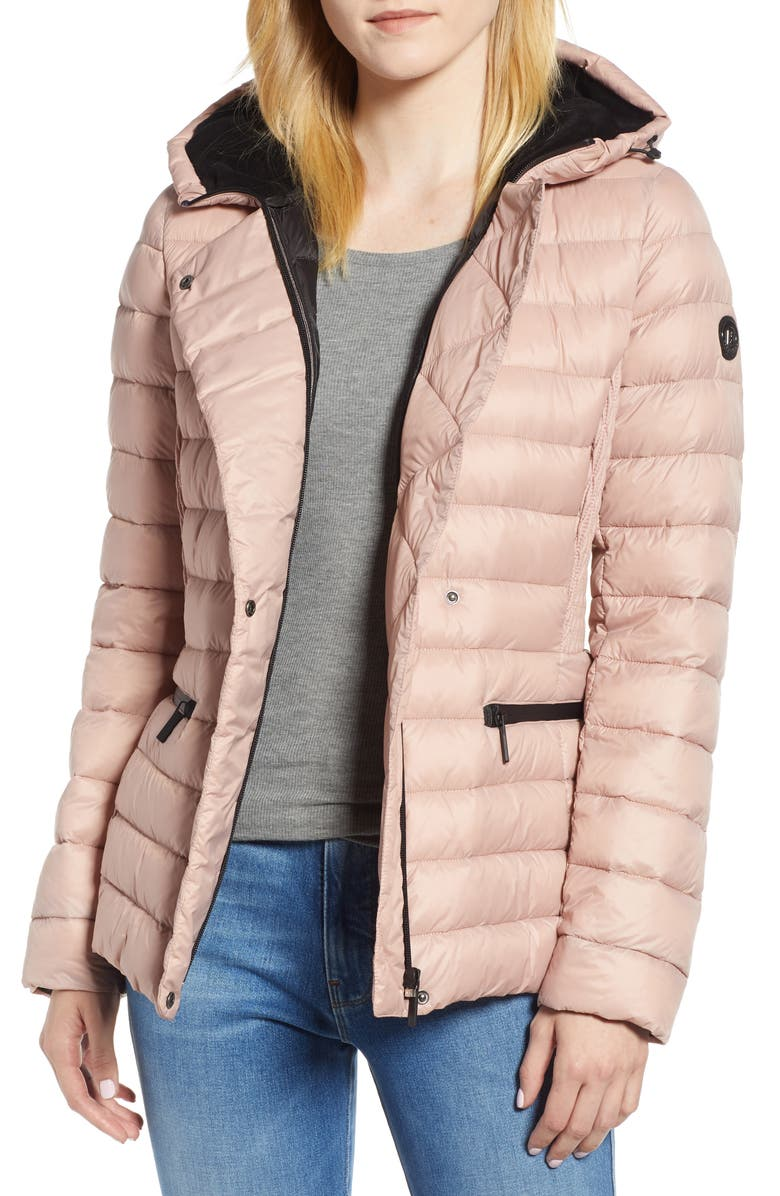 Bernardo Sporty Hooded Puffer Jacket | Nordstrom