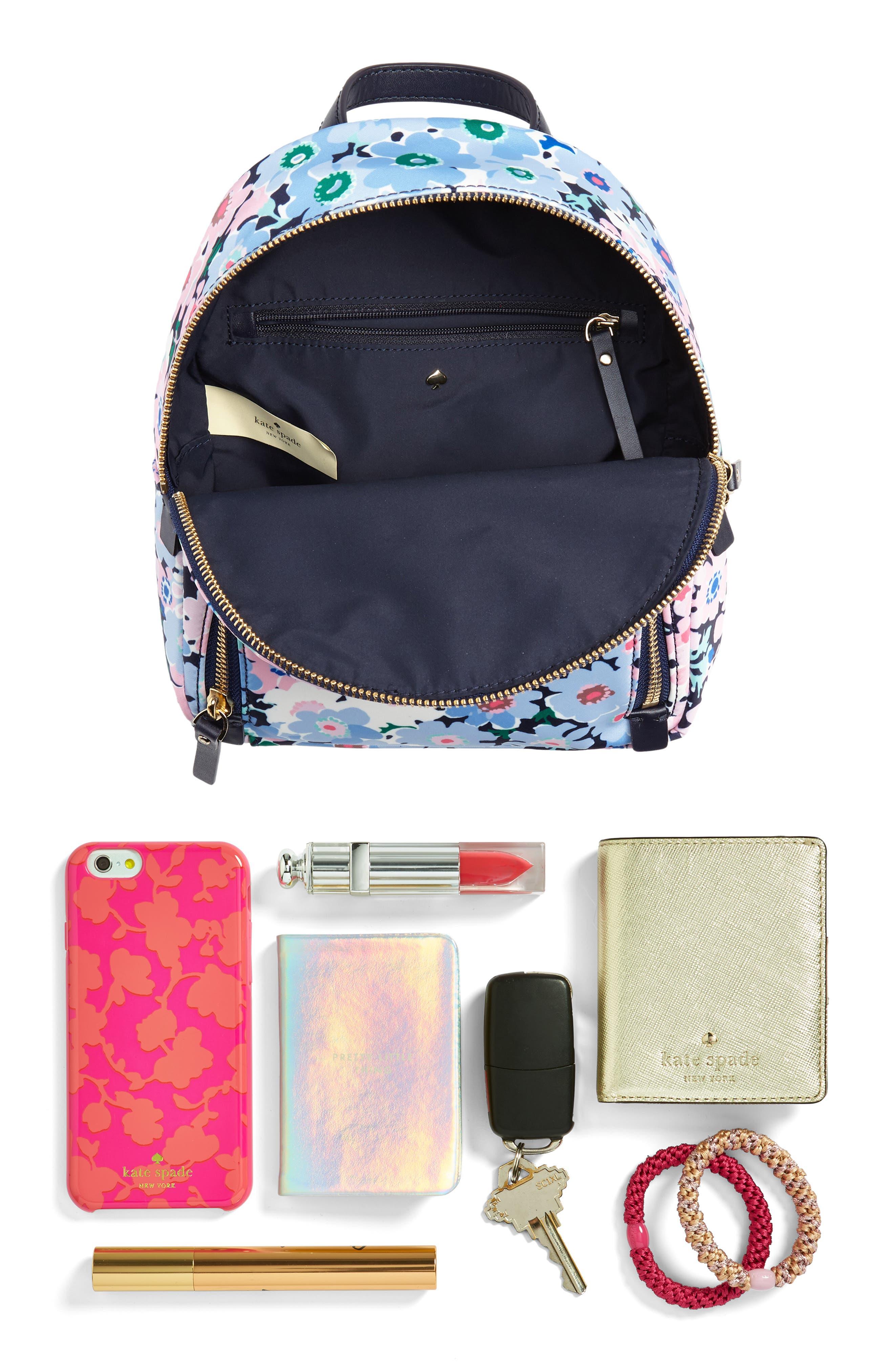watson lane - daisy garden small hartley backpack,                             Alternate thumbnail 7, color,