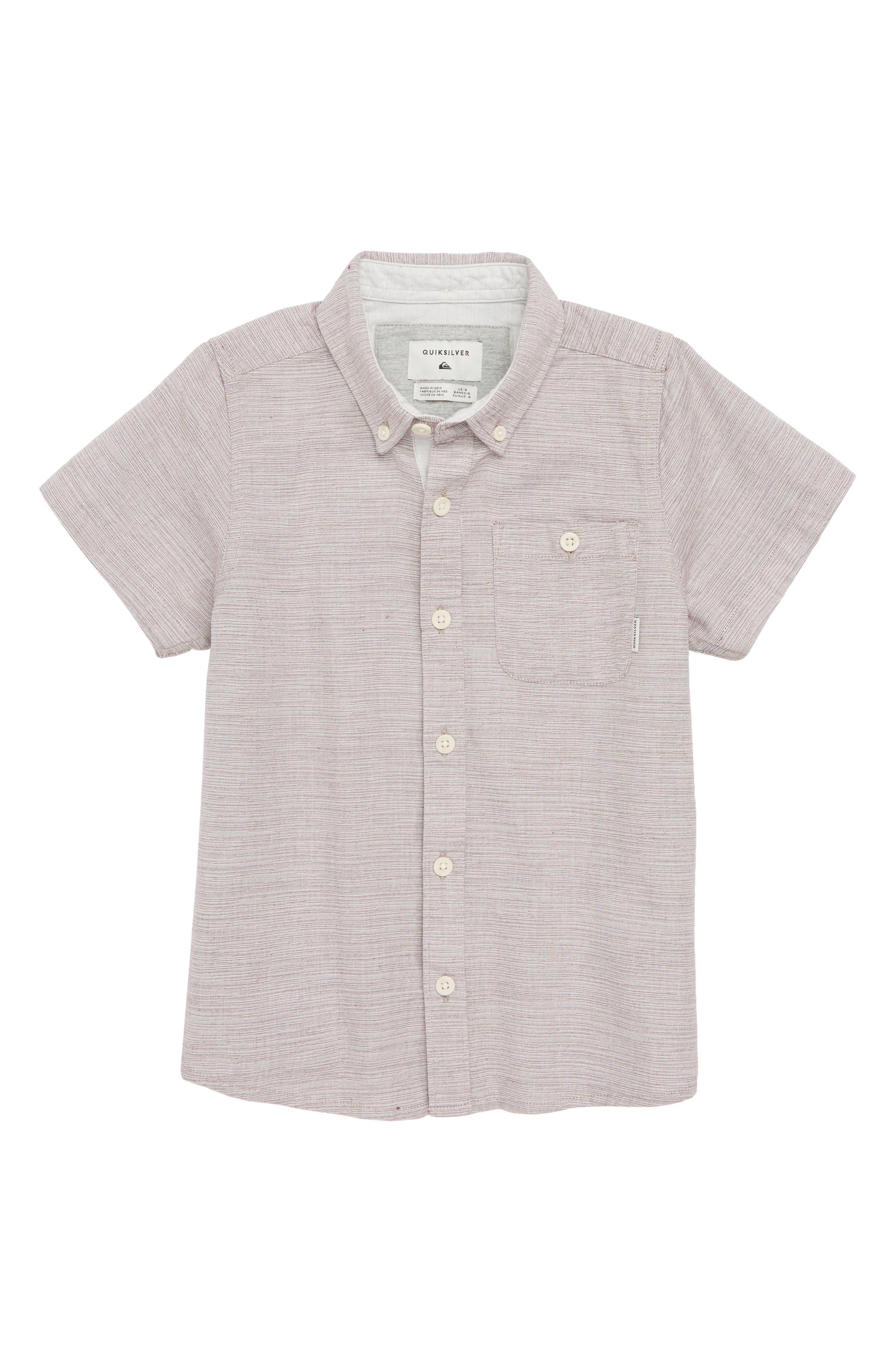 Waterfall Woven Shirt,                         Main,                         color, Vineyard Wine