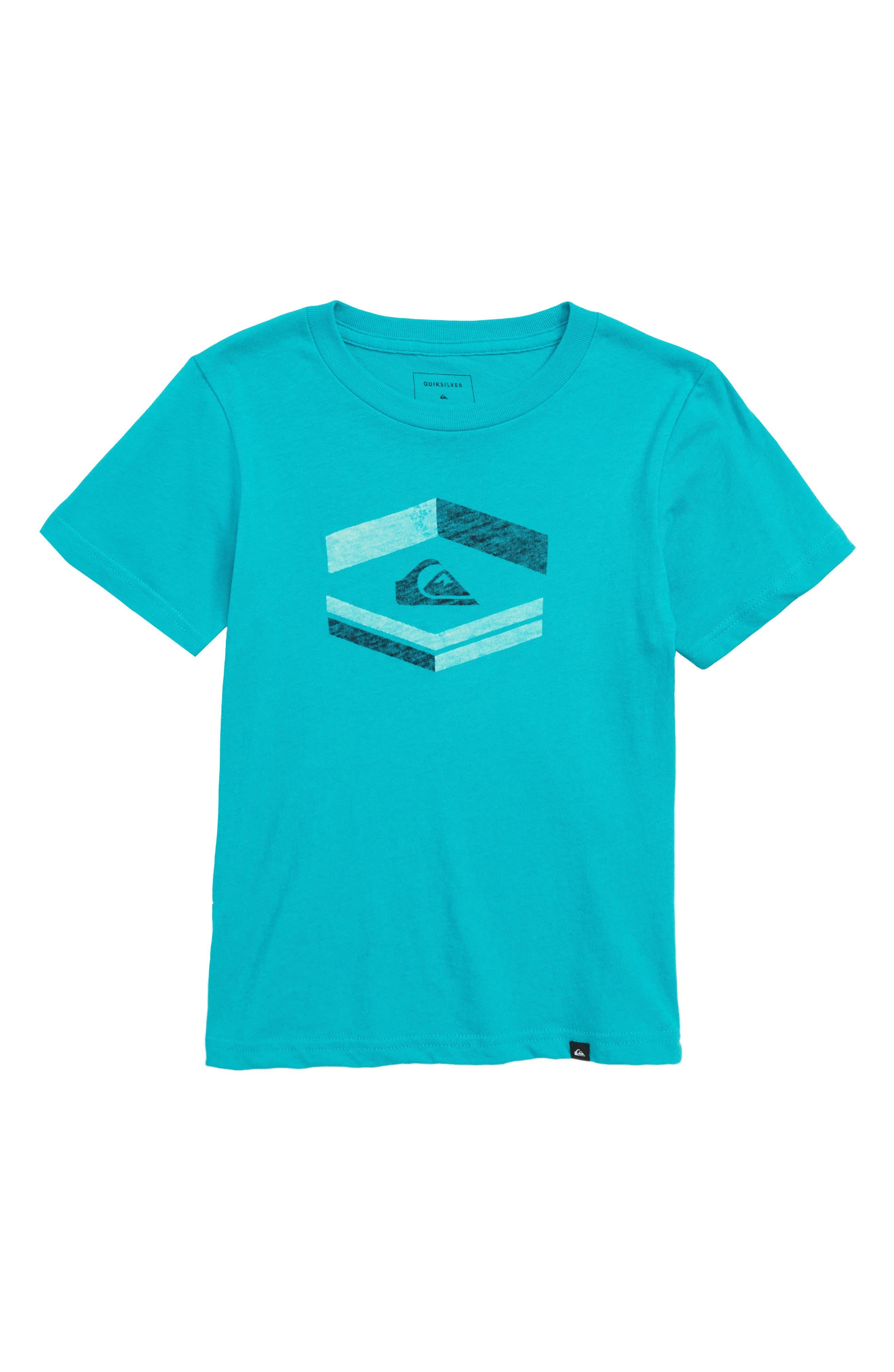 Major Tone Graphic T-Shirt,                         Main,                         color, Tropic Green