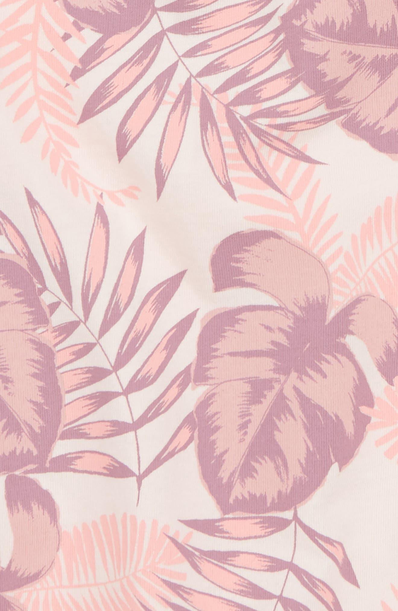 Peek Palm Bubble Romper,                             Alternate thumbnail 2, color,                             Light Pink