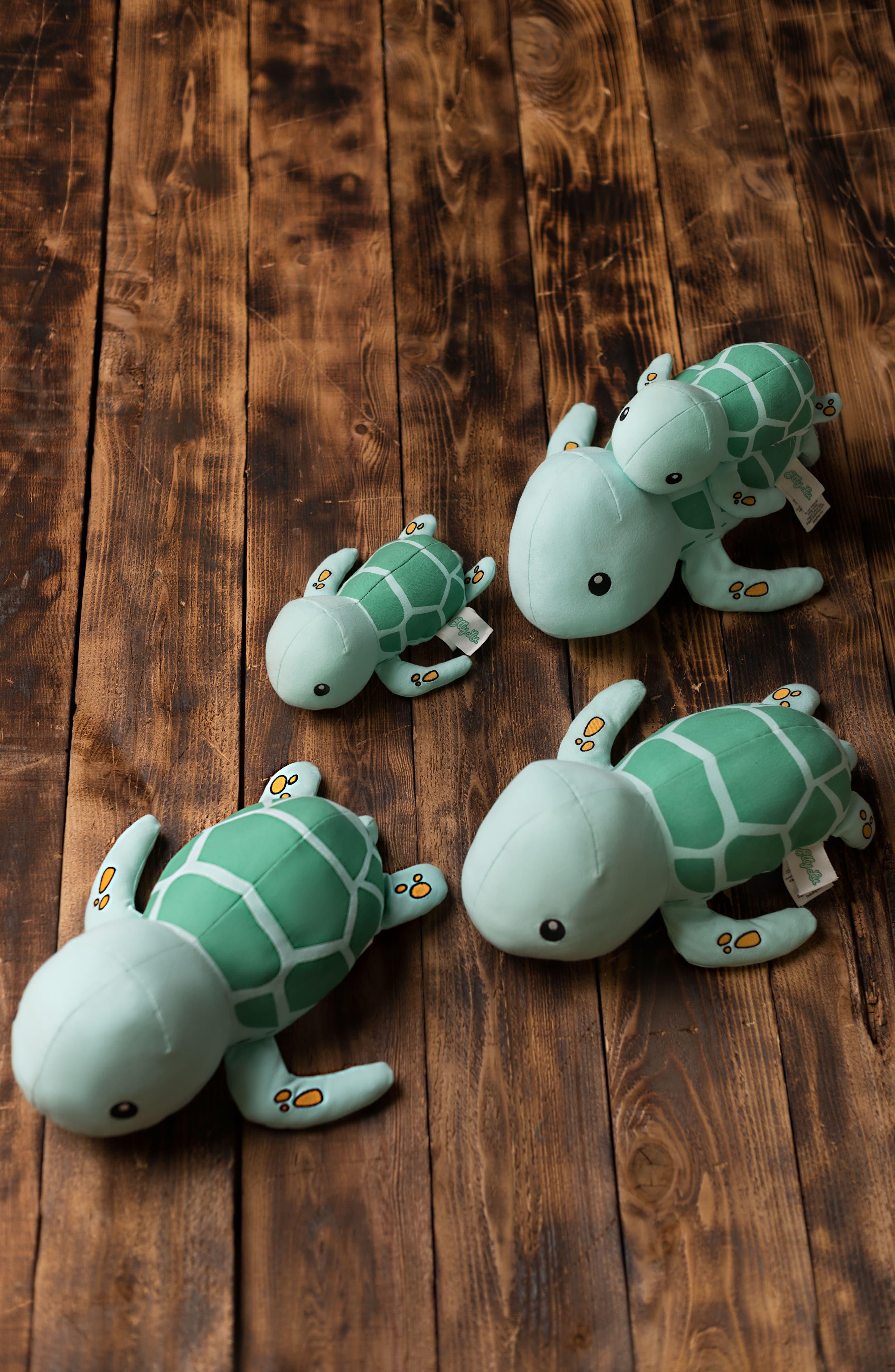 Tucker Turtle Stuffed Animal,                             Alternate thumbnail 5, color,                             Blue/ Green