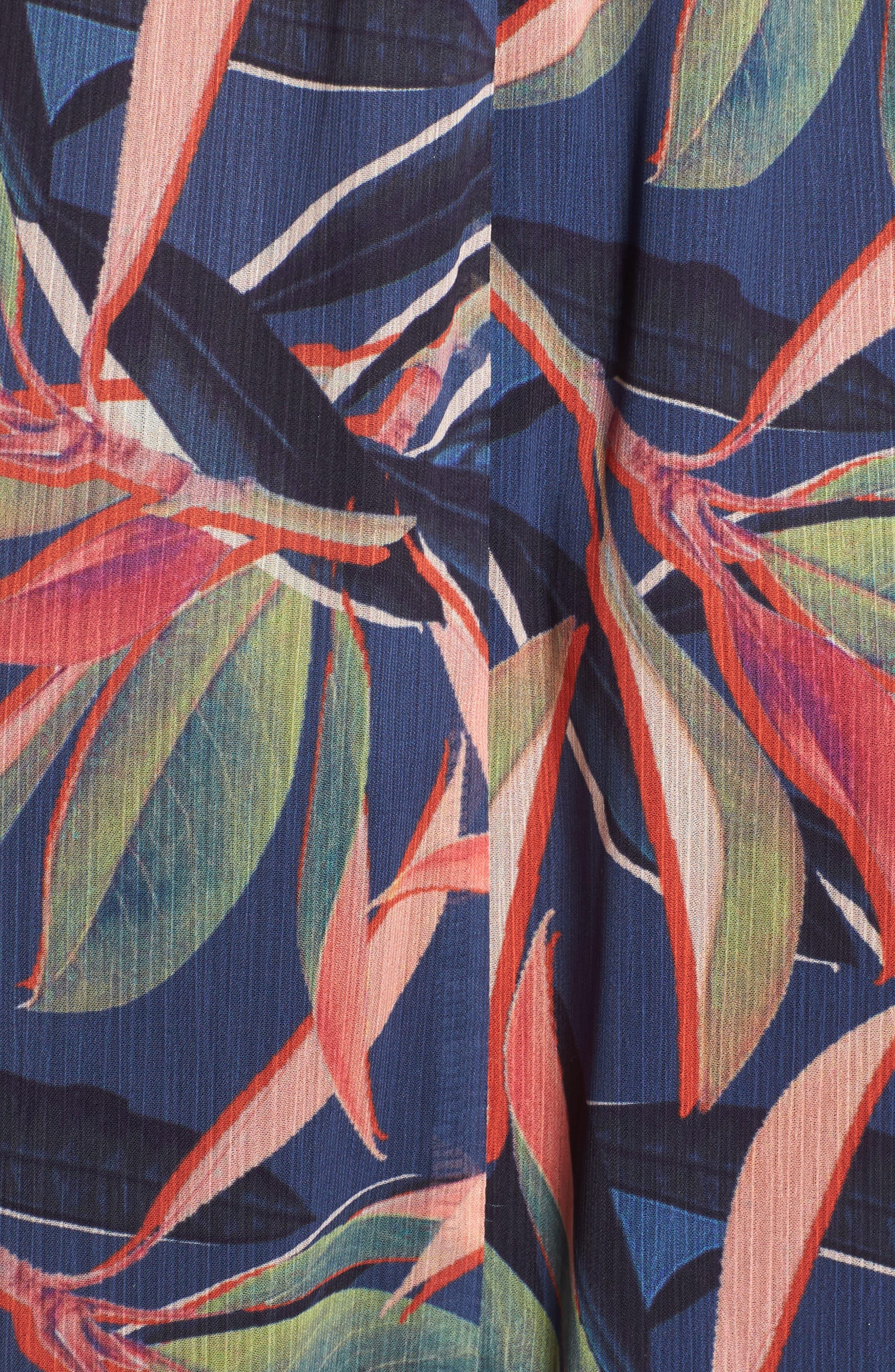 Ruffle Maxi Dress,                             Alternate thumbnail 7, color,                             Multi