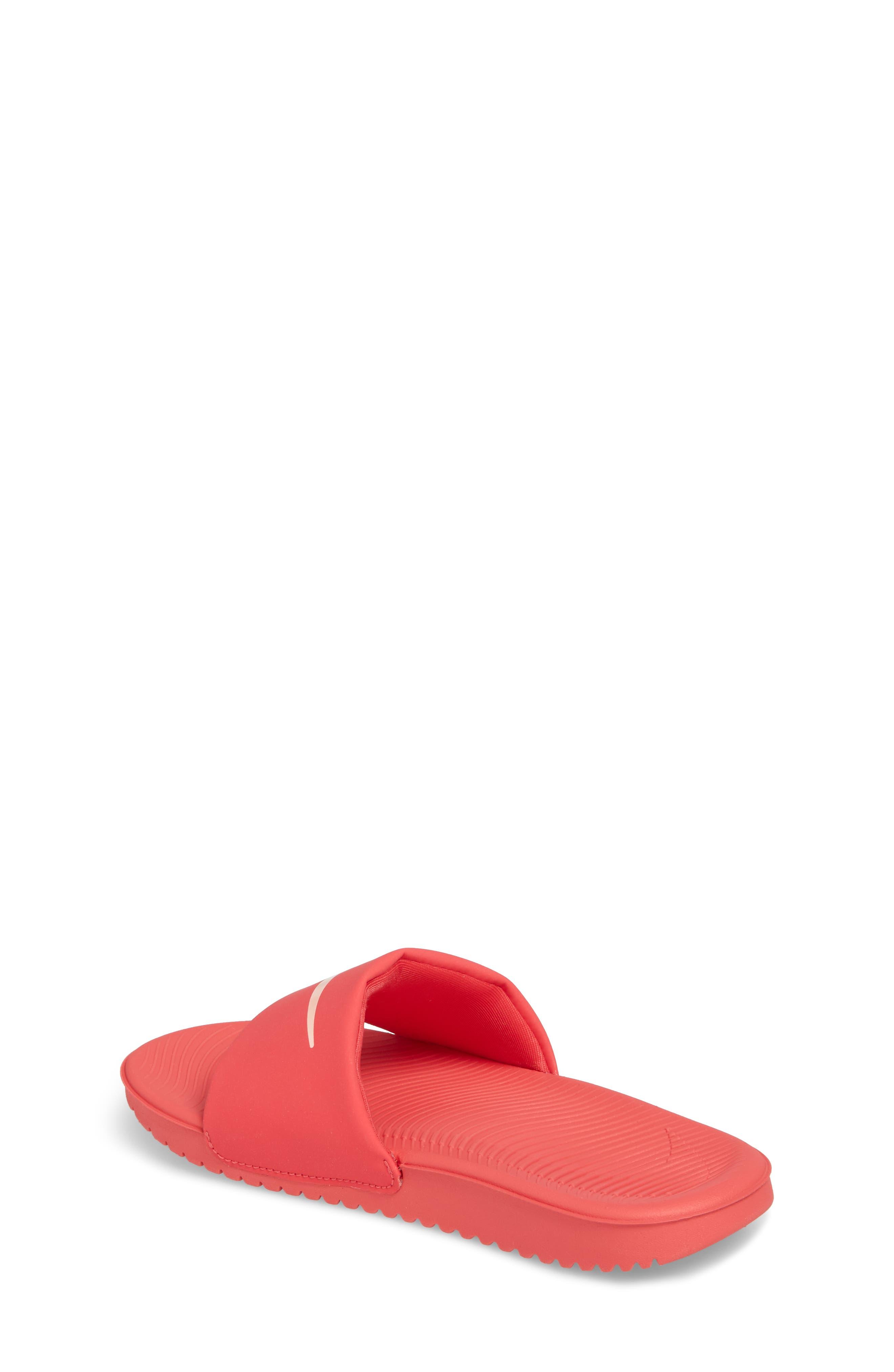 'Kawa' Slide Sandal,                             Alternate thumbnail 2, color,                             Tropical Pink/ Bleached Coral