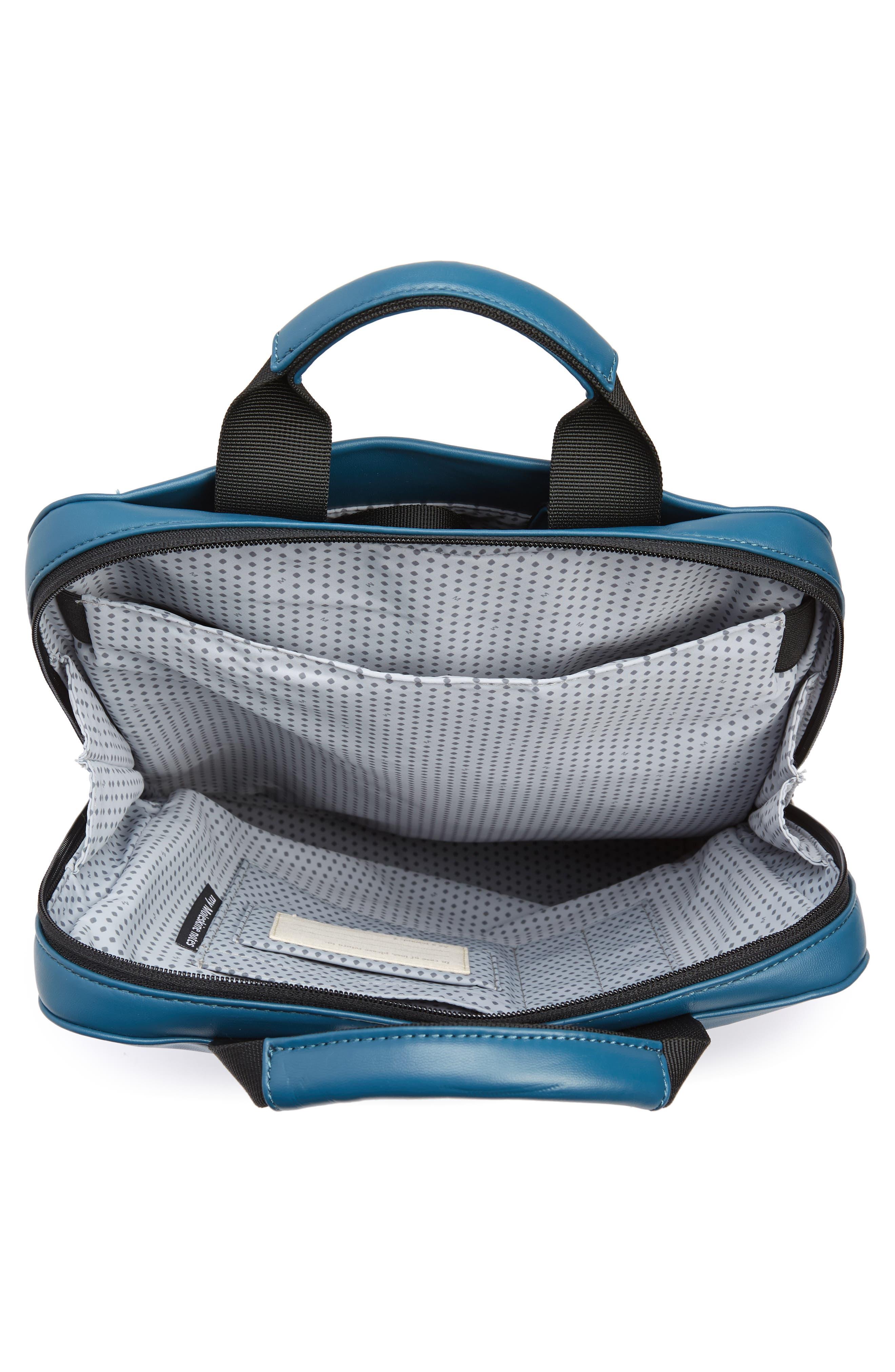 ID Vertical Device Bag,                             Alternate thumbnail 4, color,                             Steel Blue