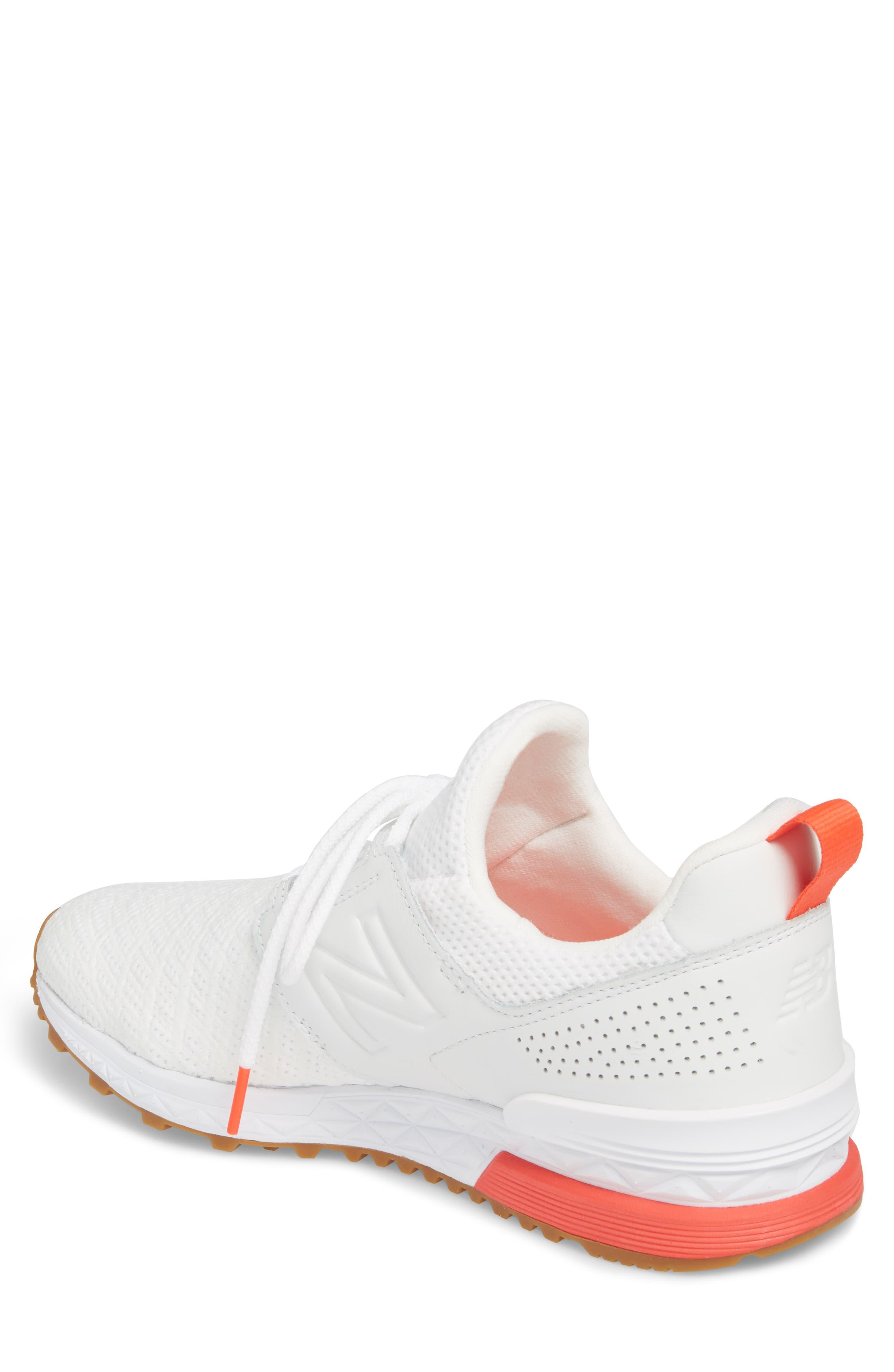 574 Sport Sneaker,                             Alternate thumbnail 2, color,                             White