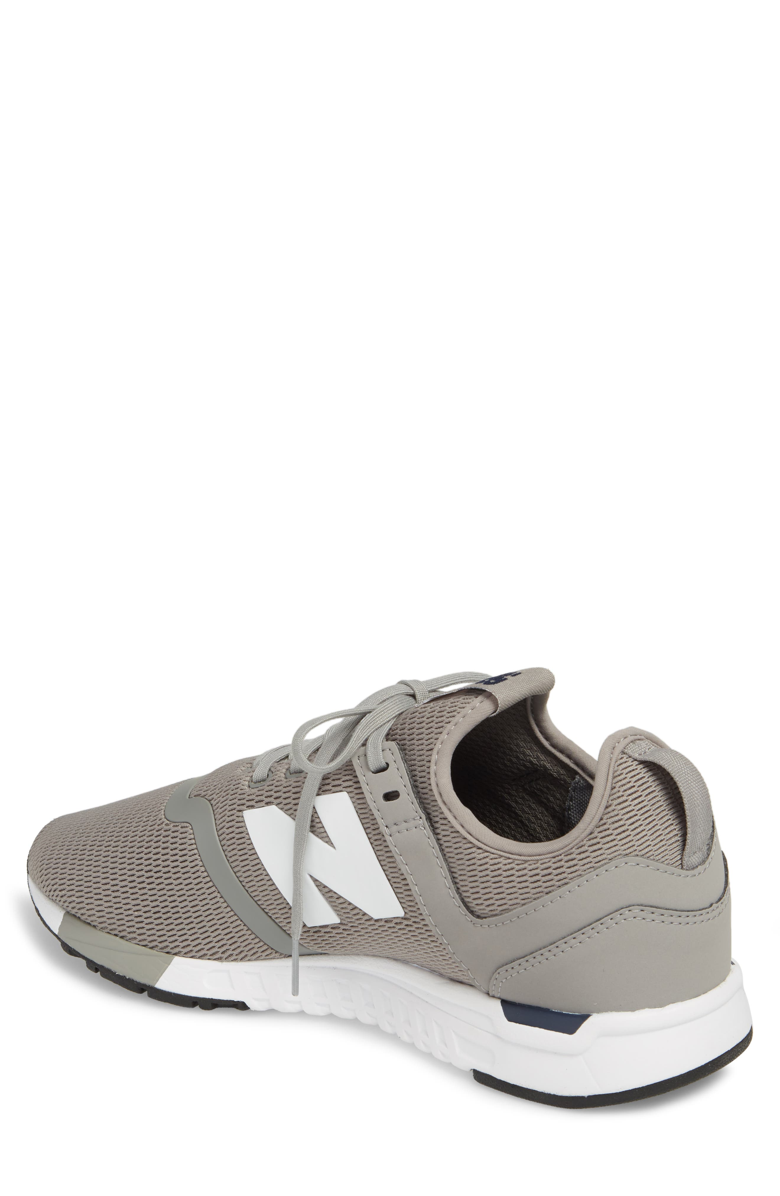 247 Sneaker,                             Alternate thumbnail 2, color,                             Steel