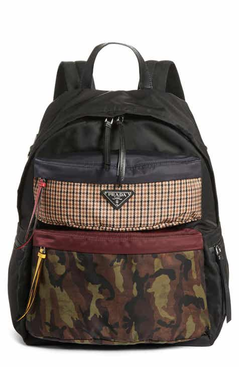 Prada Tessuto Camo Patch Nylon Backpack 78e727b91fc12