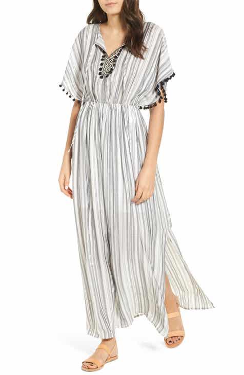 black and white stripe dress   Nordstrom