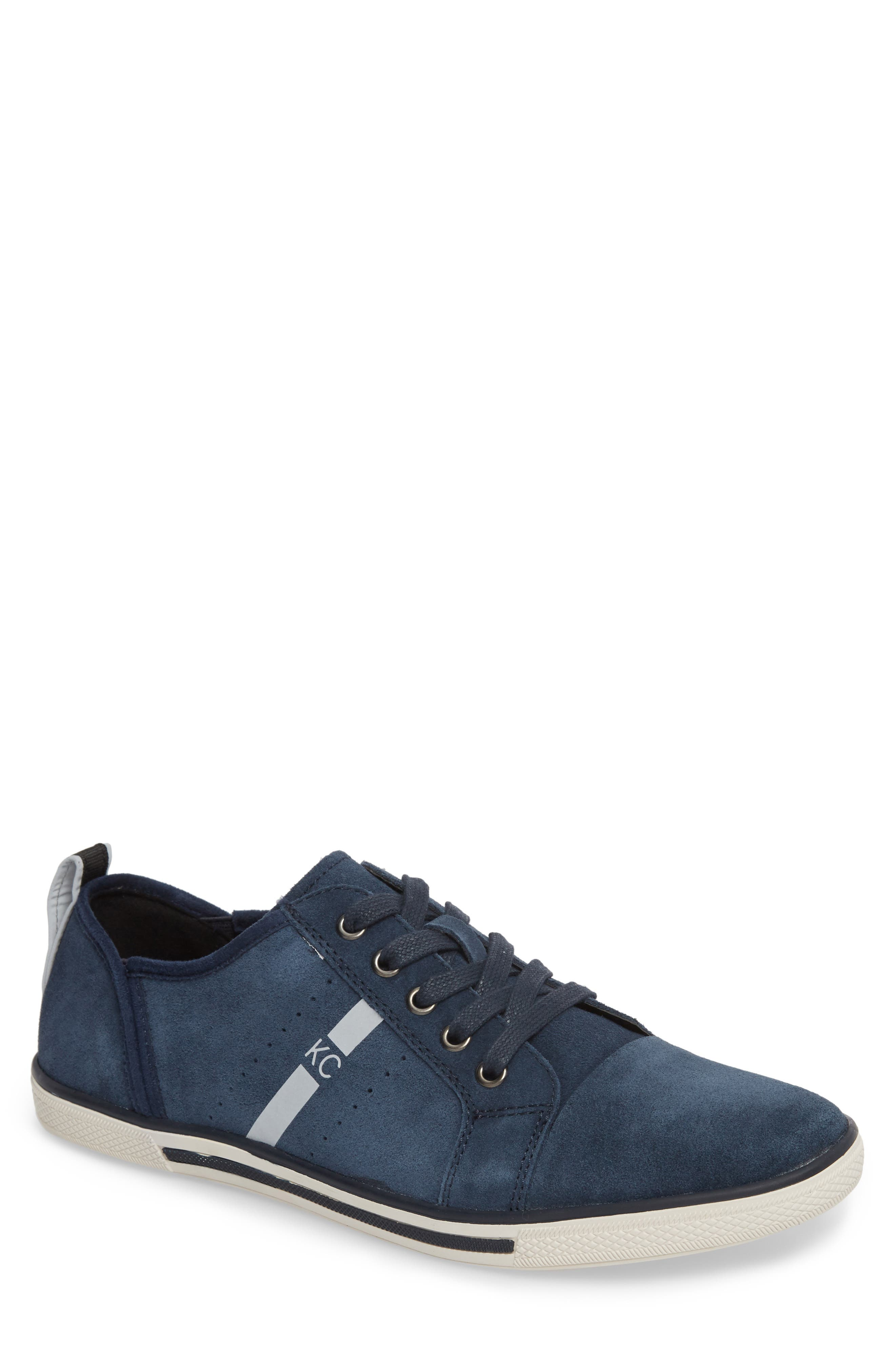 Center Low Sneaker,                         Main,                         color, Navy