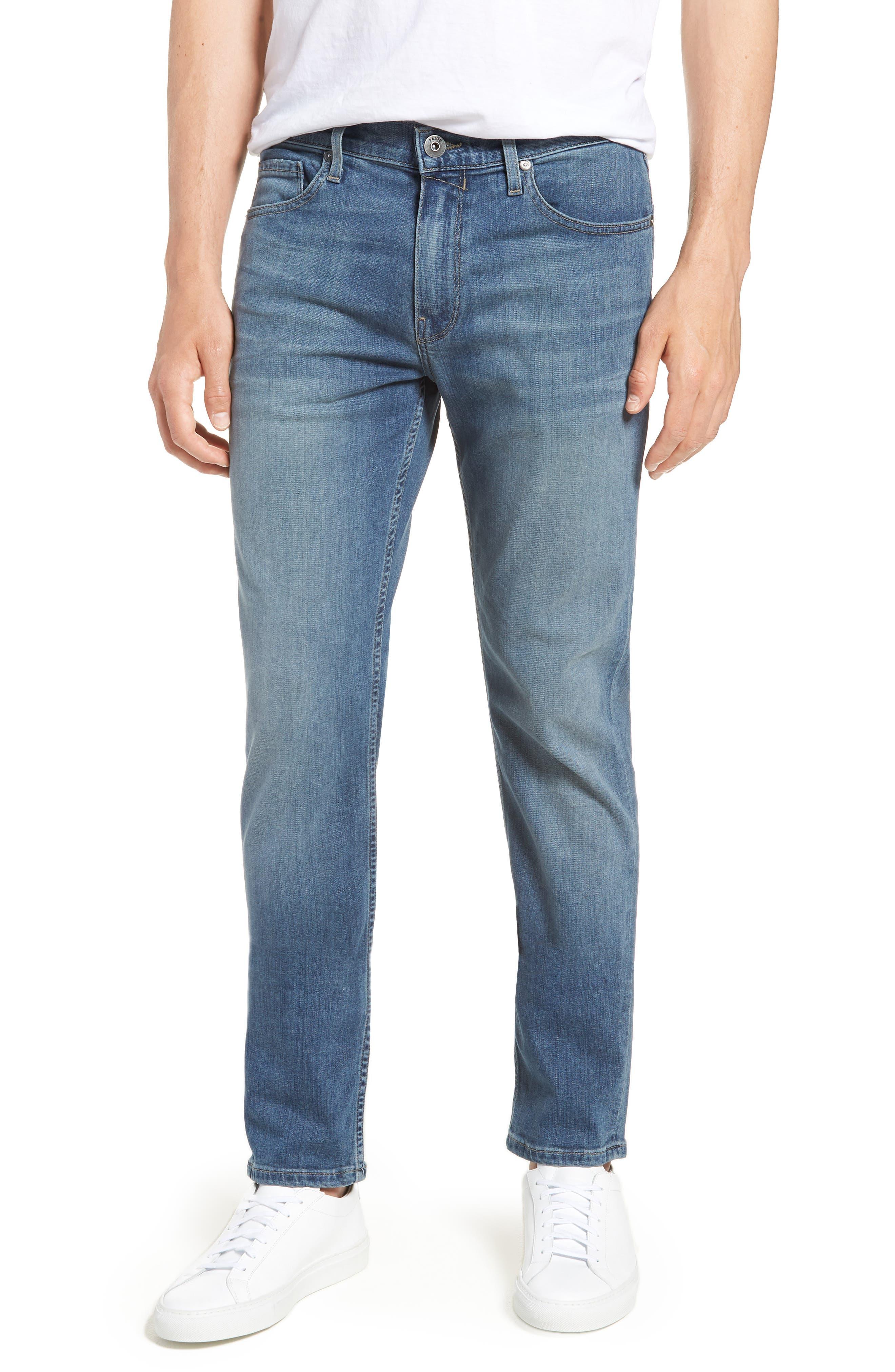 Transcend - Lennox Slim Fit Jeans,                             Main thumbnail 1, color,                             Allman