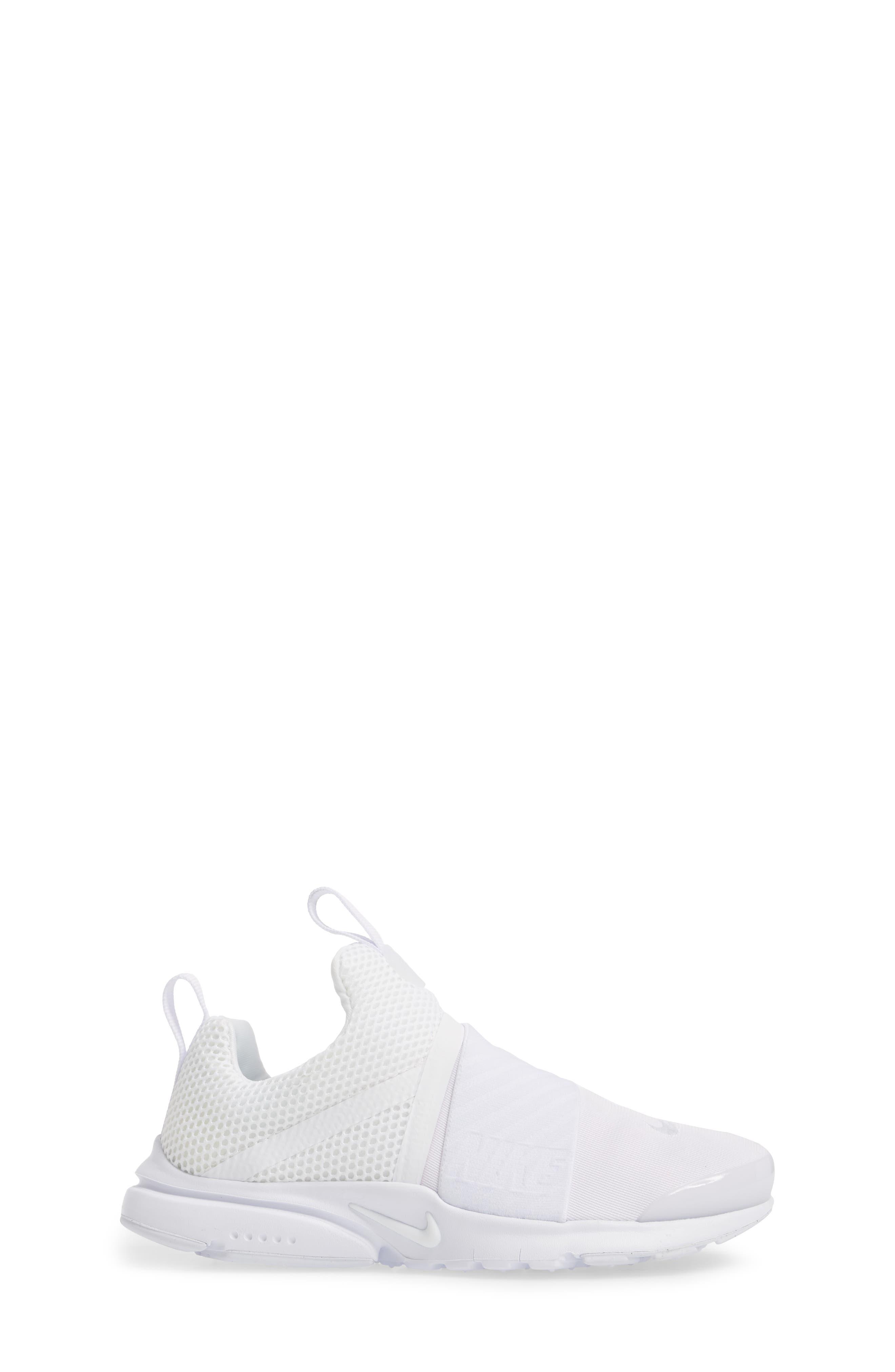 Presto Extreme Sneaker,                             Alternate thumbnail 3, color,                             White/ White/ White