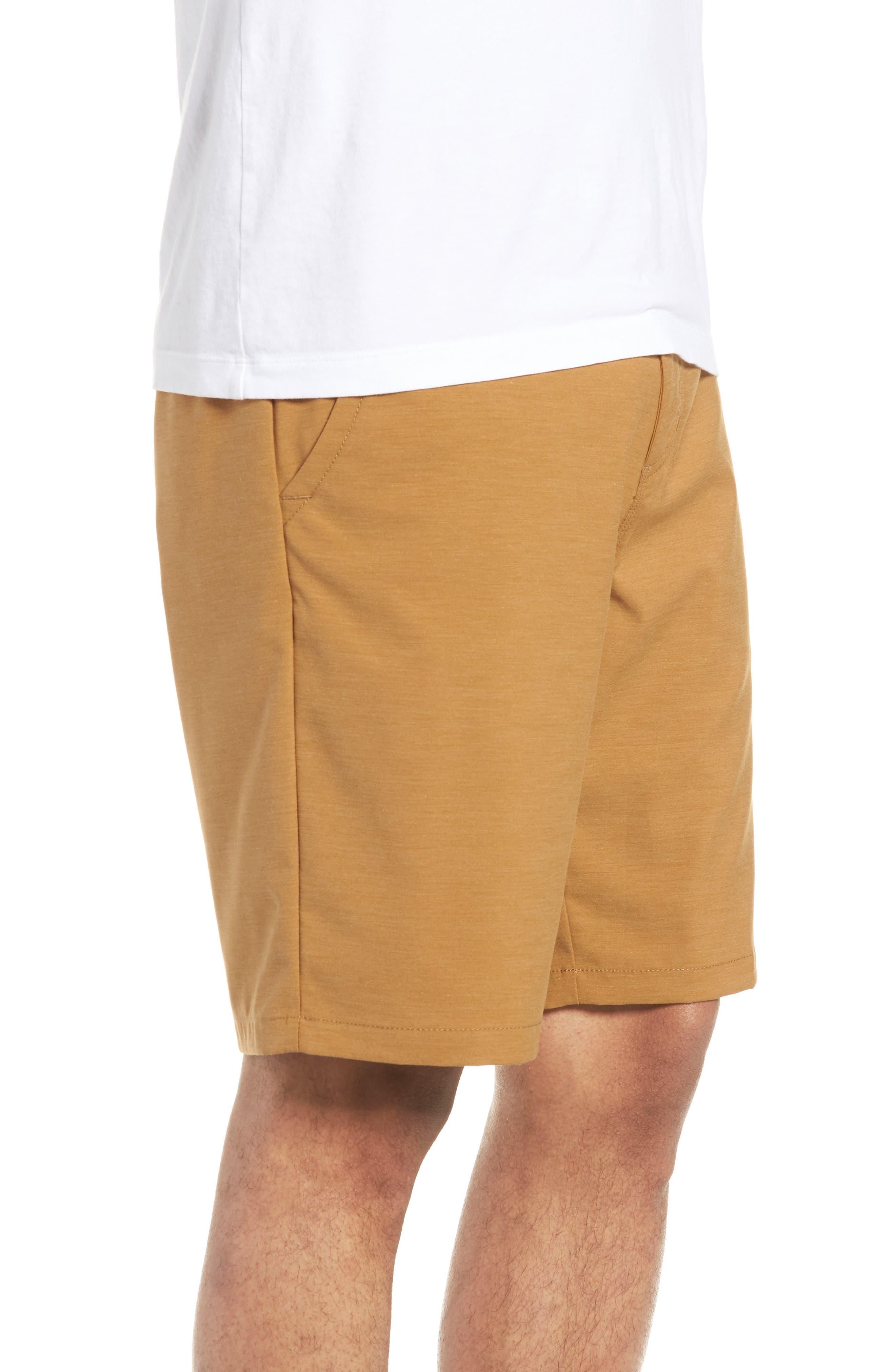 Authentic MicroPlush Decksider Shorts,                             Alternate thumbnail 3, color,                             Dirt