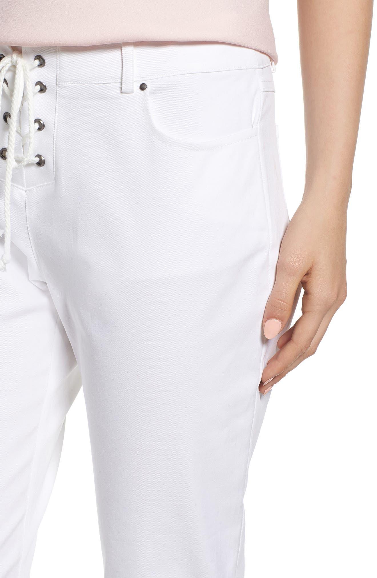 Jalanda Pants,                             Alternate thumbnail 4, color,                             White