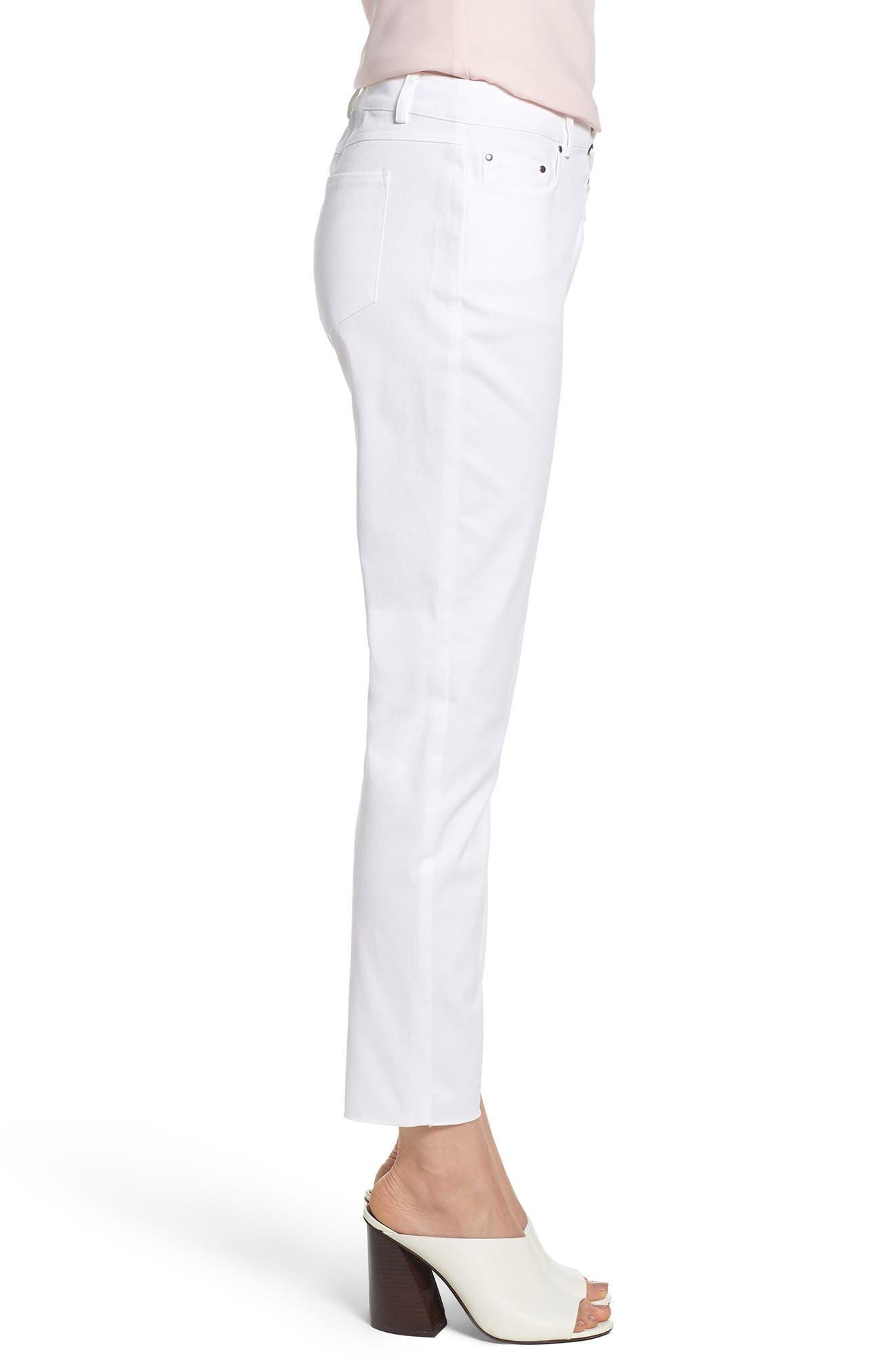 Jalanda Pants,                             Alternate thumbnail 3, color,                             White